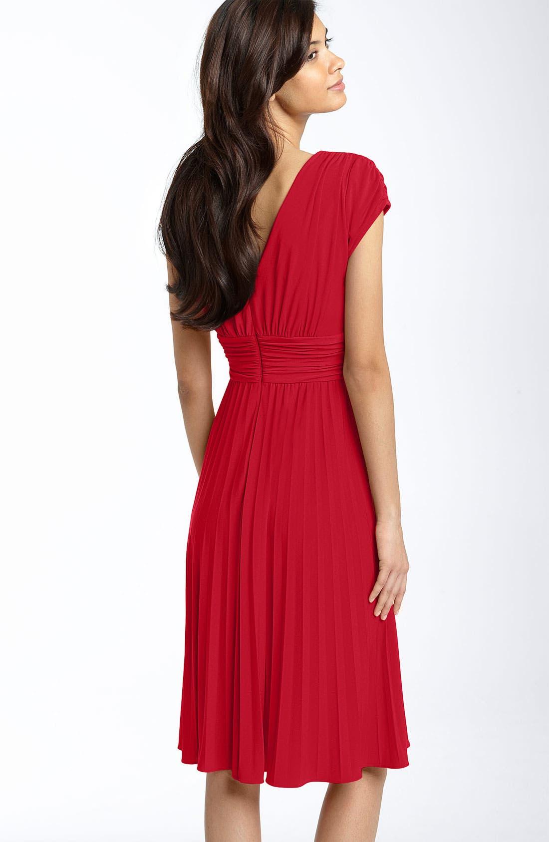Alternate Image 2  - Ivy & Blu Ruched Matte Jersey Dress