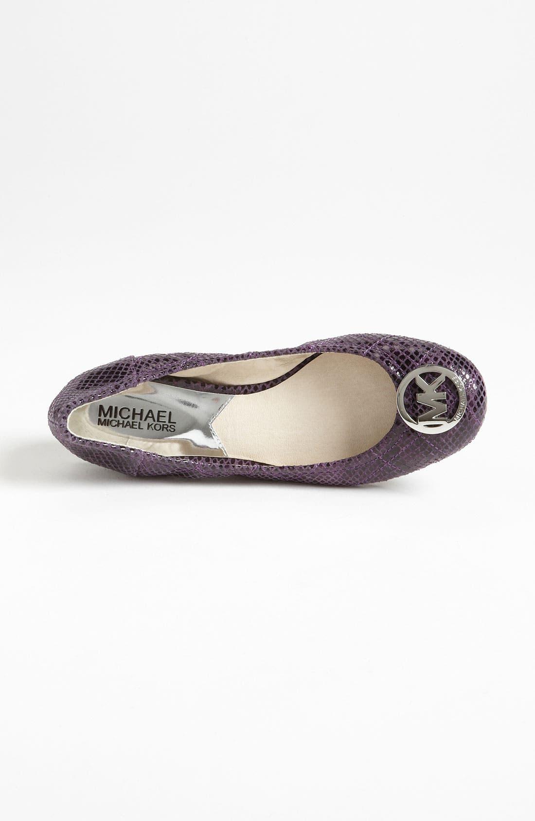 Alternate Image 4  - MICHAEL Michael Kors 'Fulton' Ballet Flat