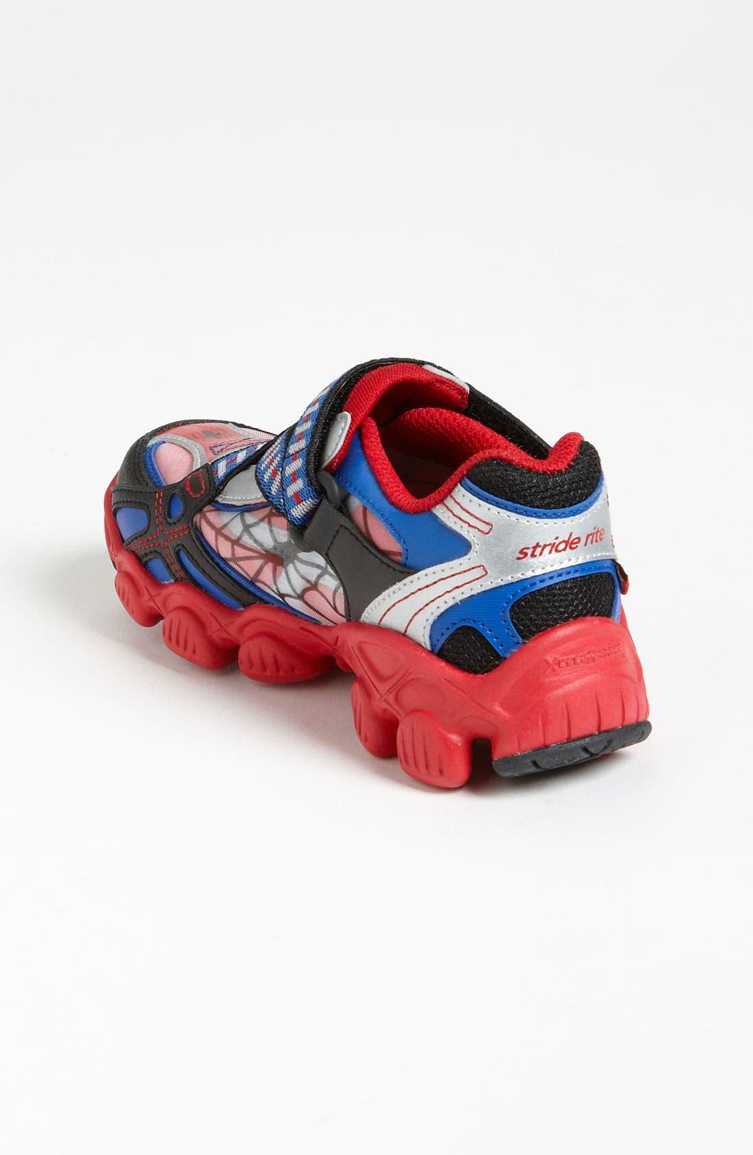Alternate Image 2  - Stride Rite 'X-Celeracers Spider-Man®' Sneaker (Toddler & Little Kid)