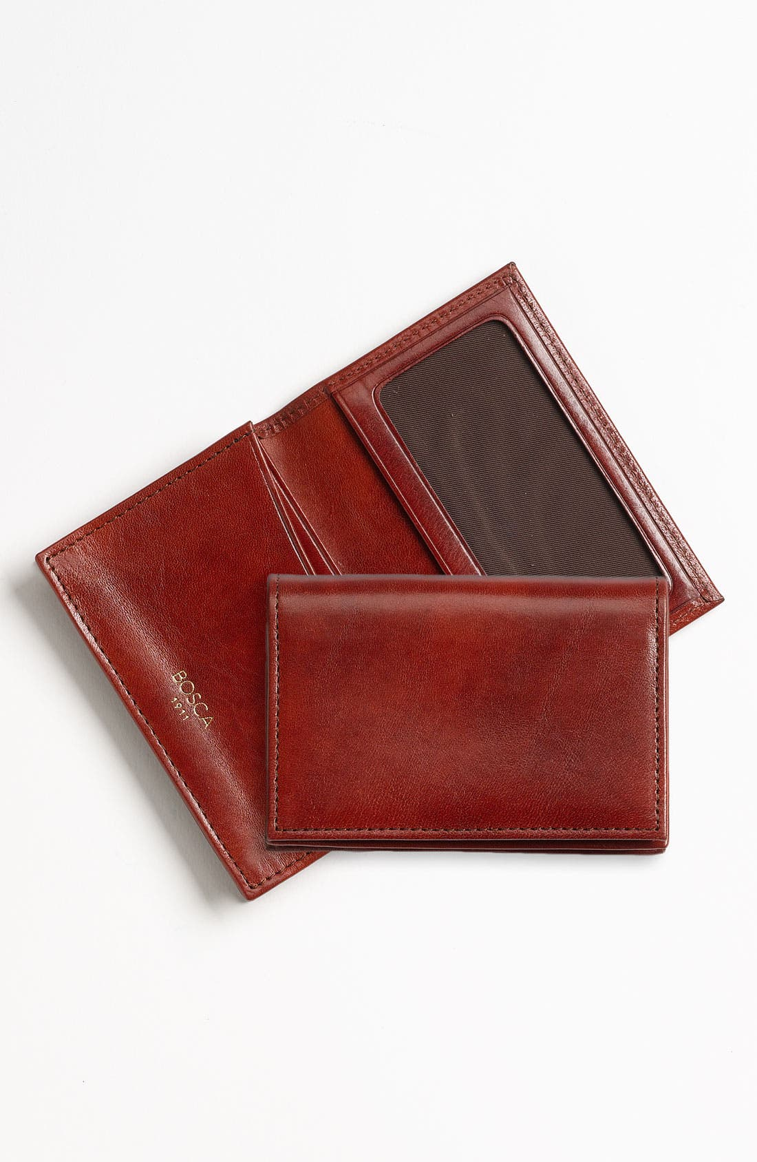 Alternate Image 1 Selected - Bosca 'Old Leather' Gusset Wallet