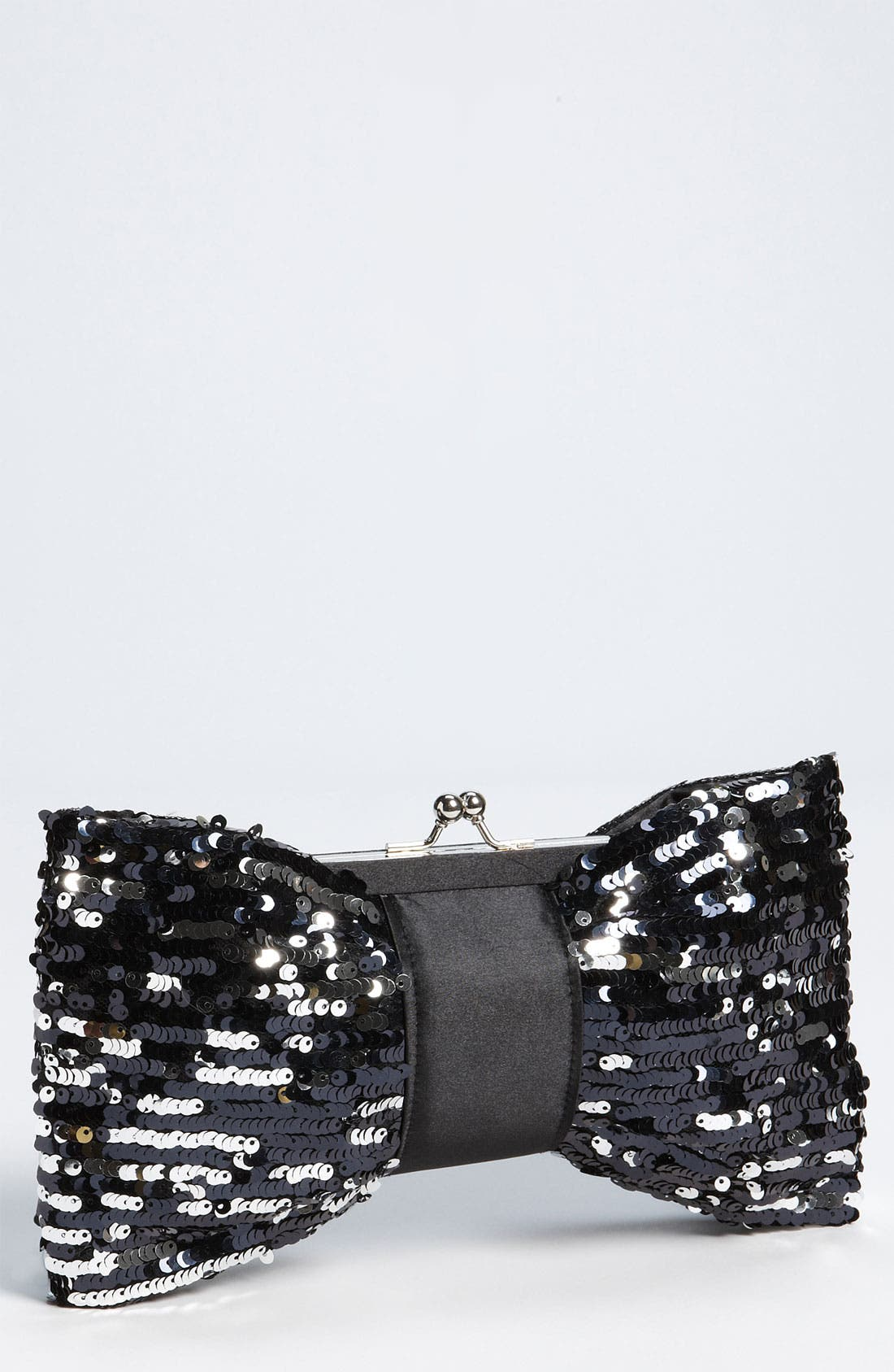 Main Image - Natasha Couture Sequin Bow Clutch