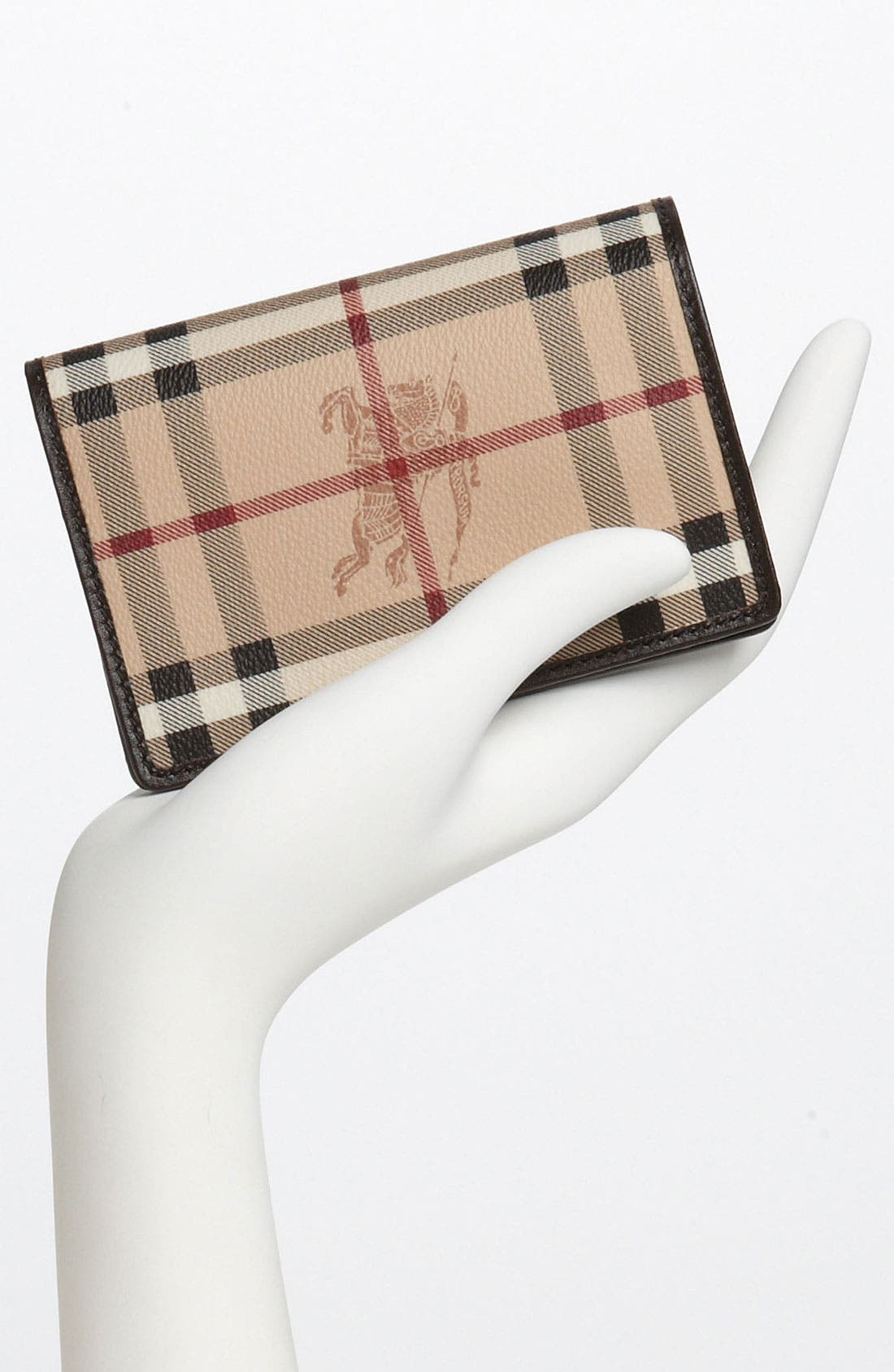 Alternate Image 2  - Burberry 'Haymarket Check' Passport Case