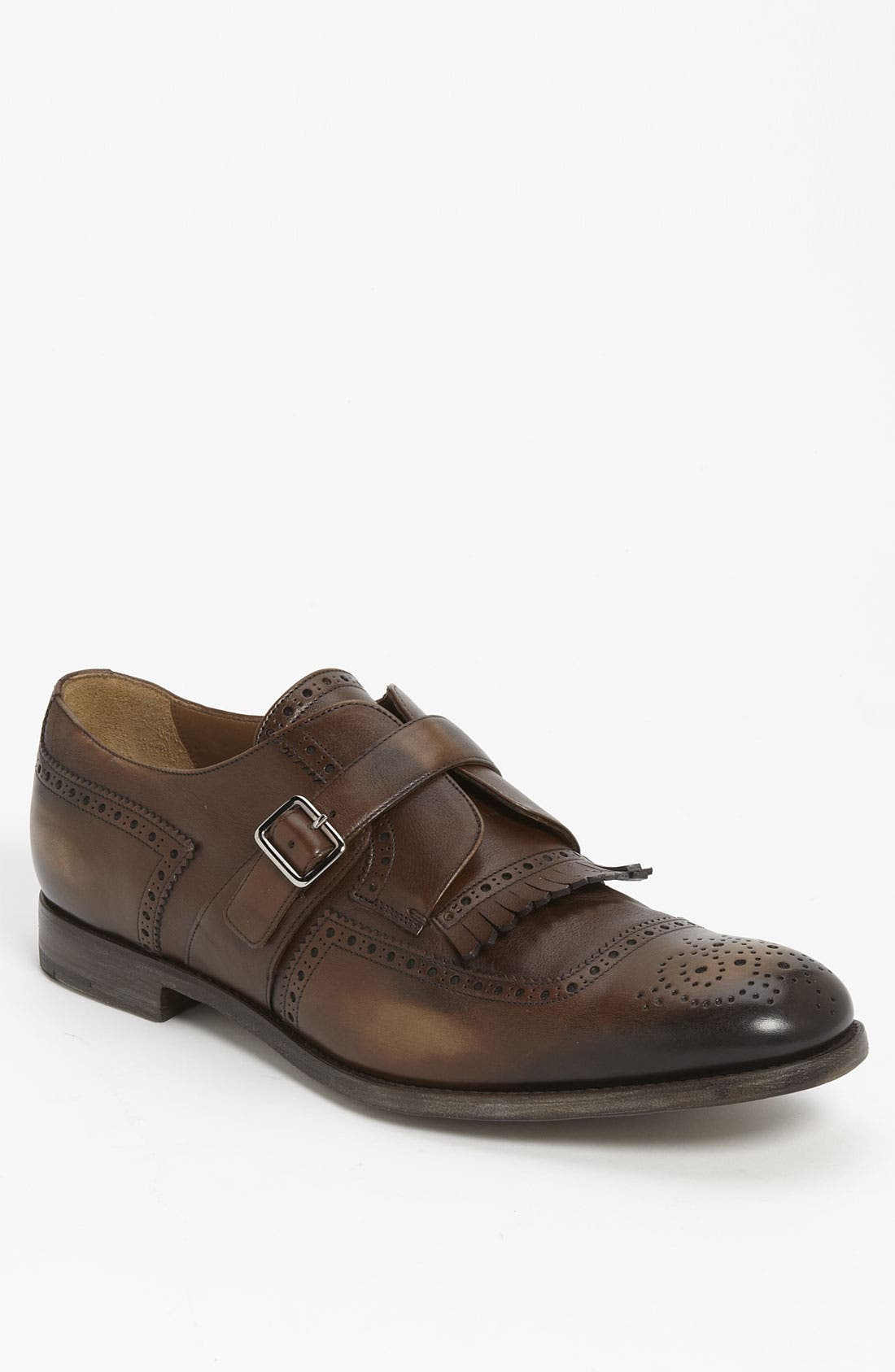 Main Image - Prada Kiltie Wingtip Slip-On (Online Only)
