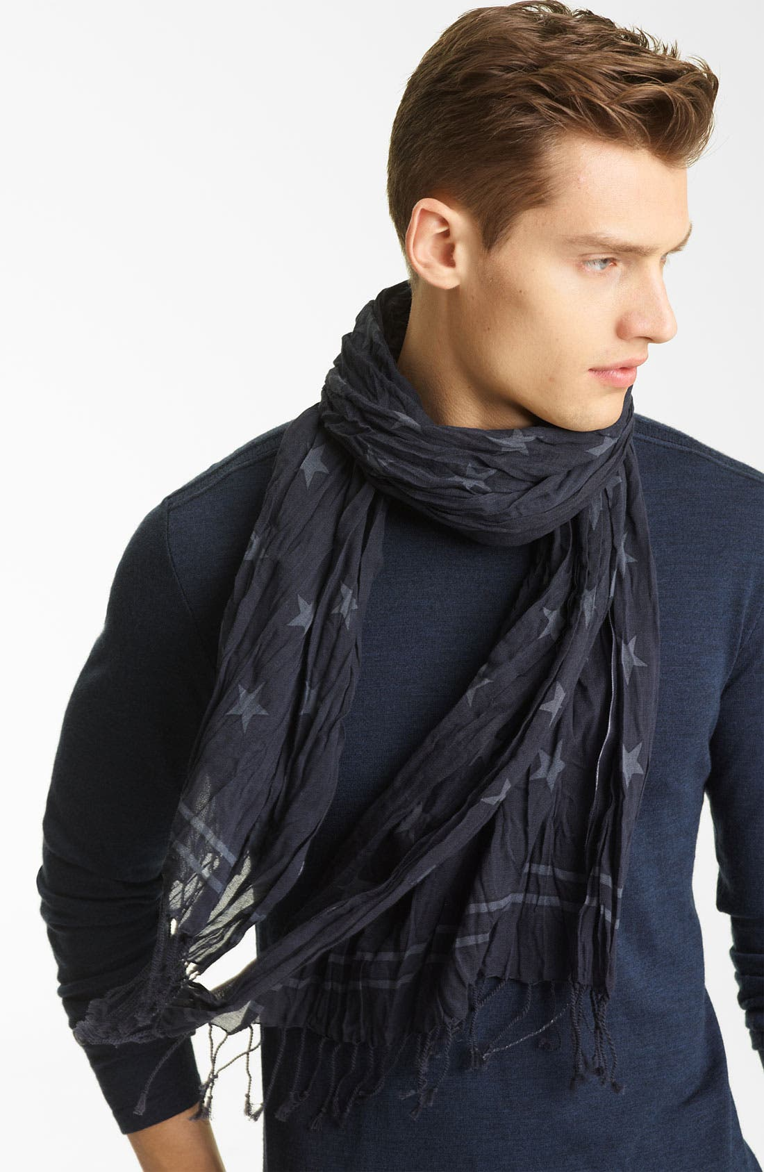 Alternate Image 1 Selected - John Varvatos Collection Star Print Scarf
