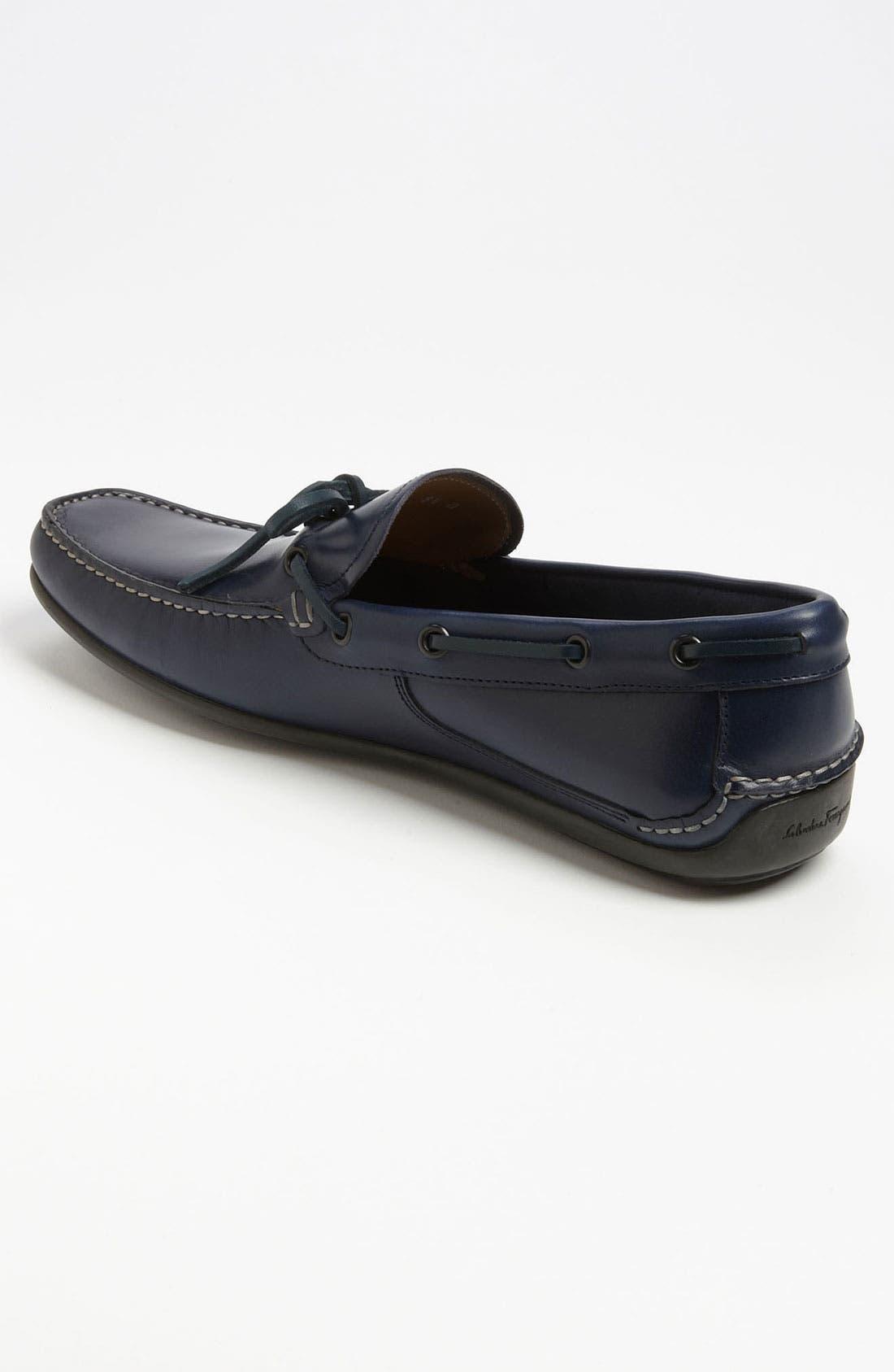 Alternate Image 2  - Salvatore Ferragamo 'Mango' Driving Shoe
