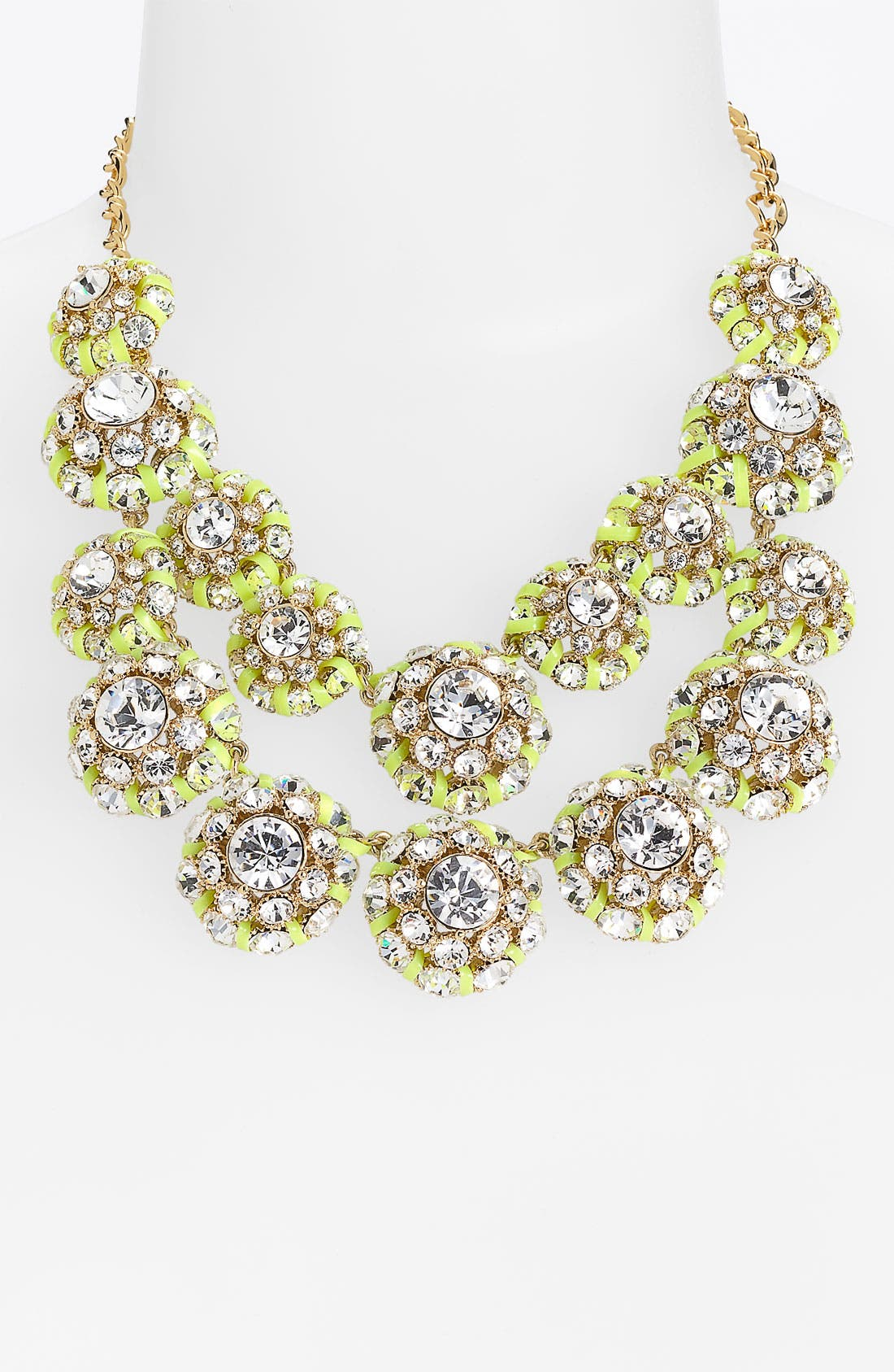 Alternate Image 1 Selected - kate spade new york 'hip stitch' double row statement necklace