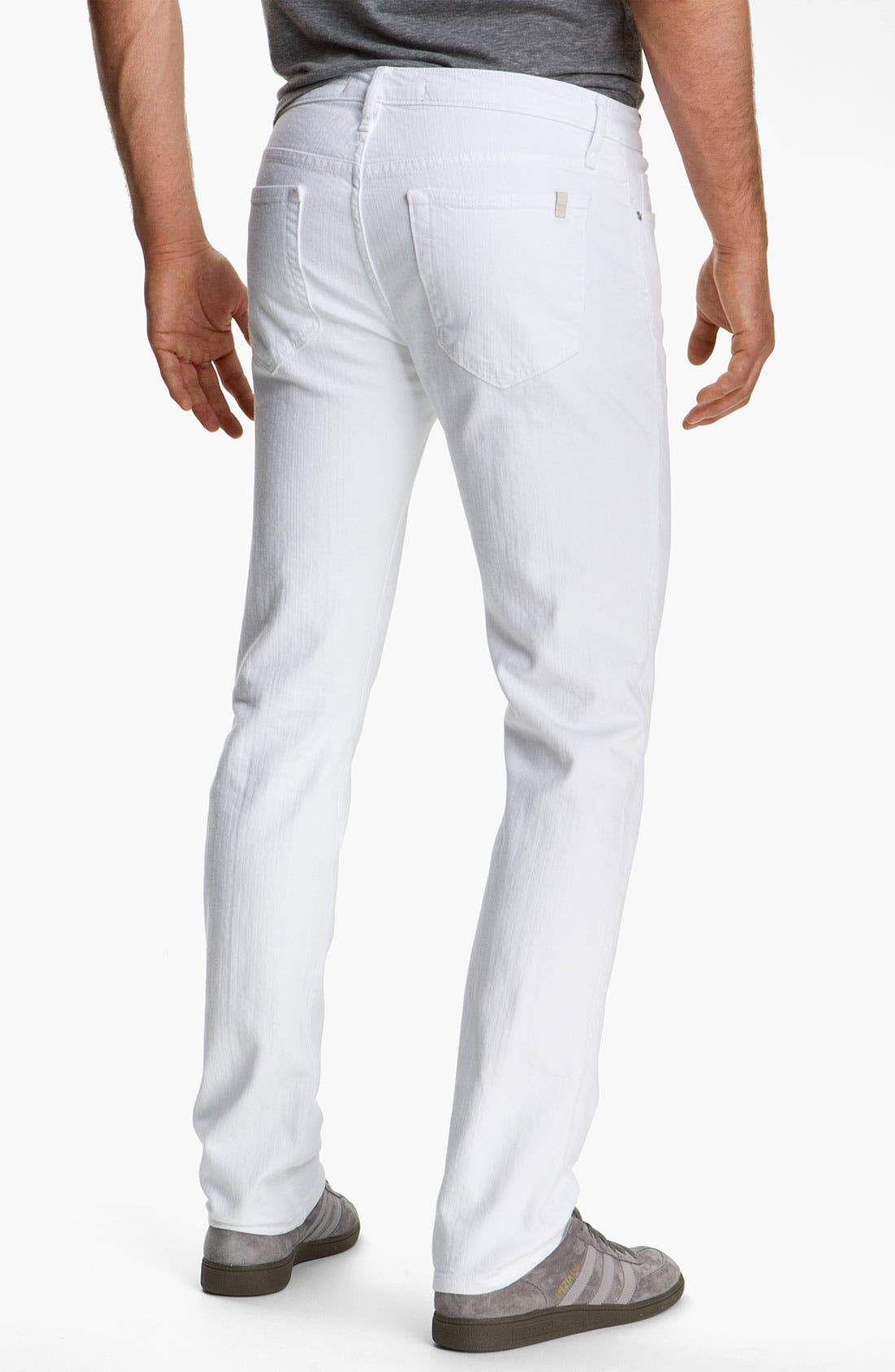 Alternate Image 1 Selected - Joe's 'Brixton' Slim Straight Leg Jeans (Optic White)