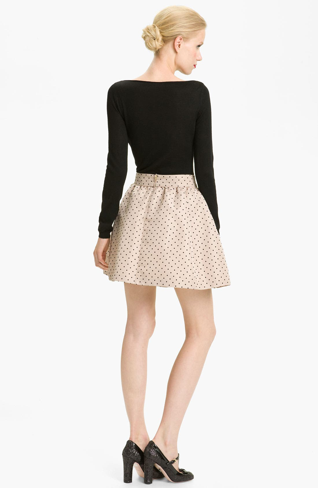 Alternate Image 2  - RED Valentino Lace Detail Sweater