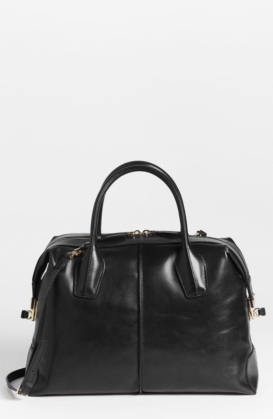 Alternate Image 1 Selected - Tod's 'D-Styling - Medium' Leather Satchel