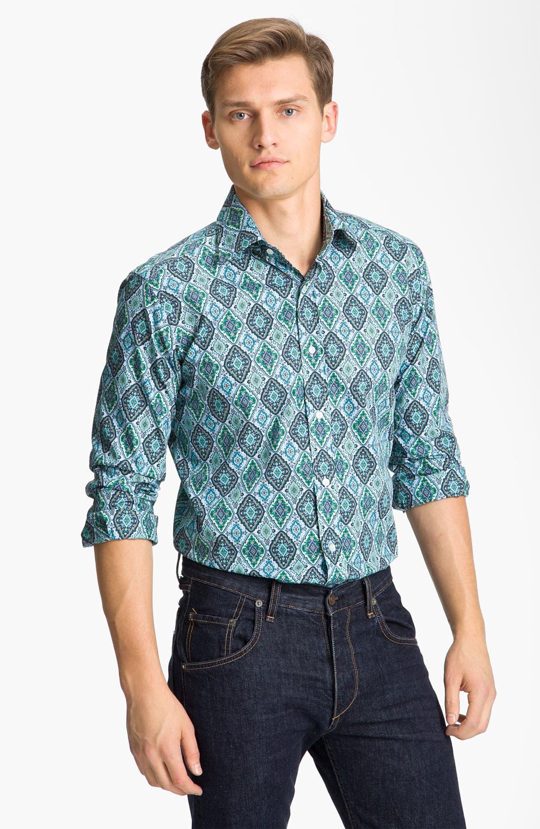 Main Image - Etro 'Diamond' Print Shirt