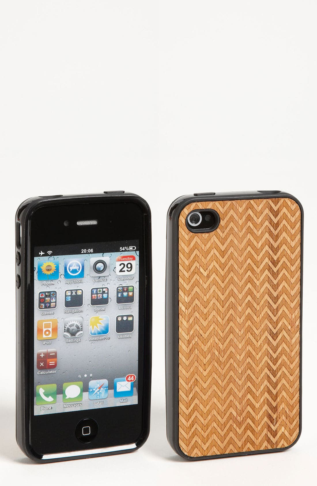 Main Image - Grass Roots 'Zig Zag' iPhone 4 & 4S Case