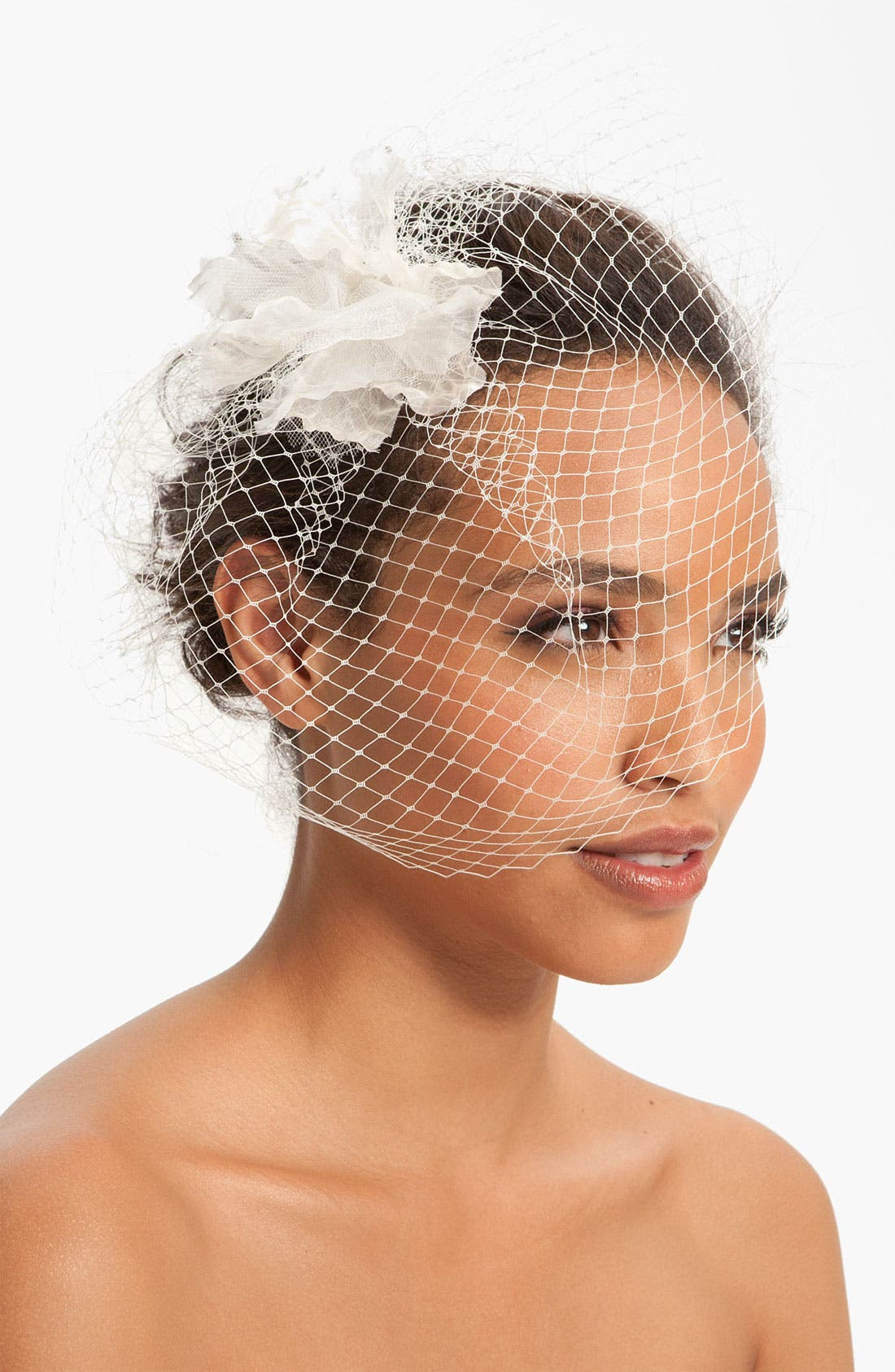 Alternate Image 1 Selected - Nina 'Maize' Birdcage Veil