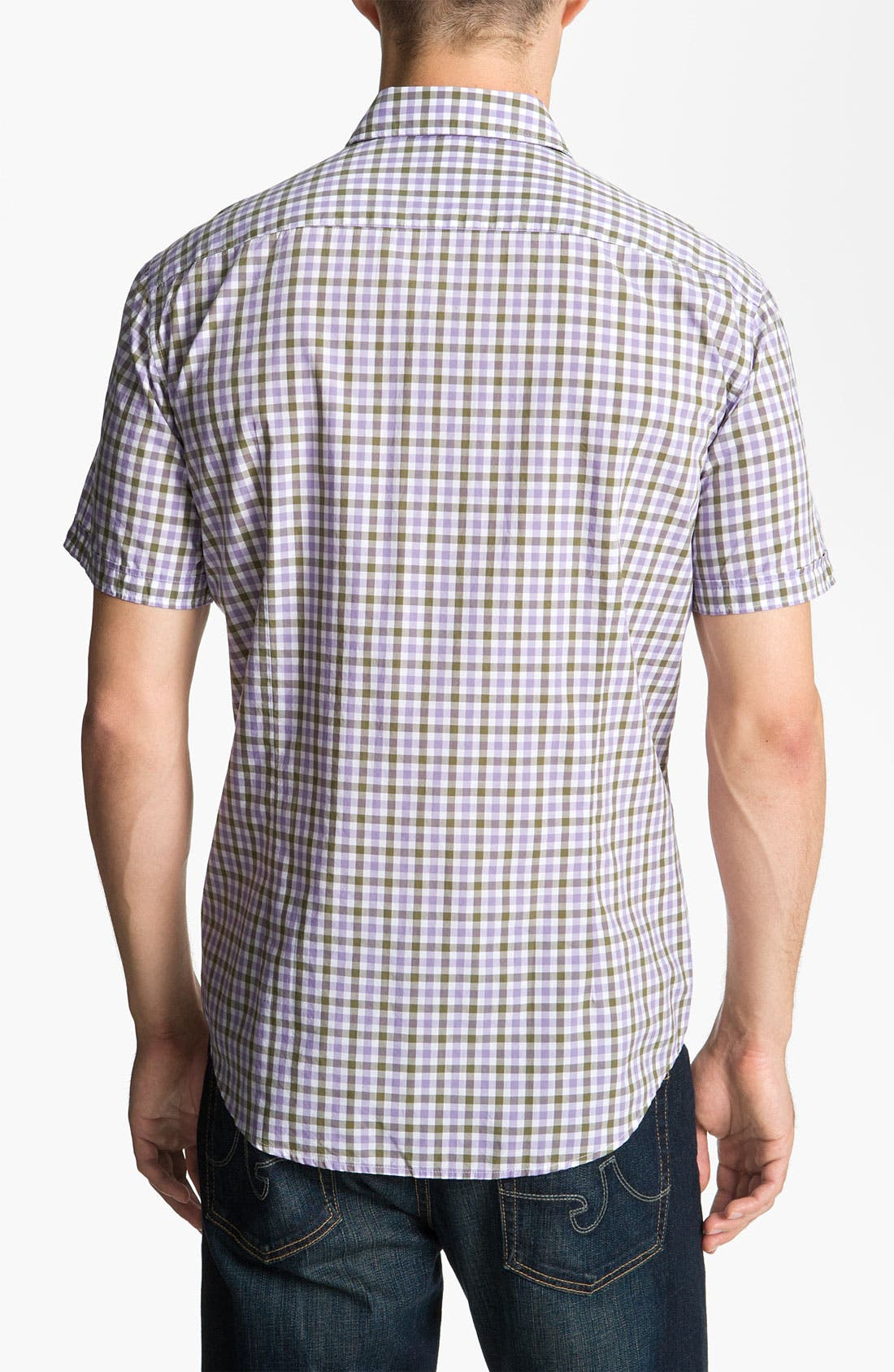 Alternate Image 2  - BOSS Black 'Marc' Slim Fit Sport Shirt