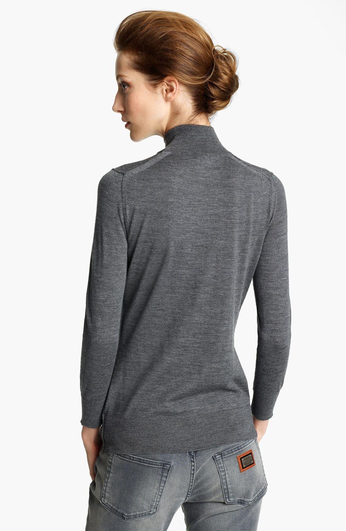 Alternate Image 2  - Dolce&Gabbana Knit Turtleneck