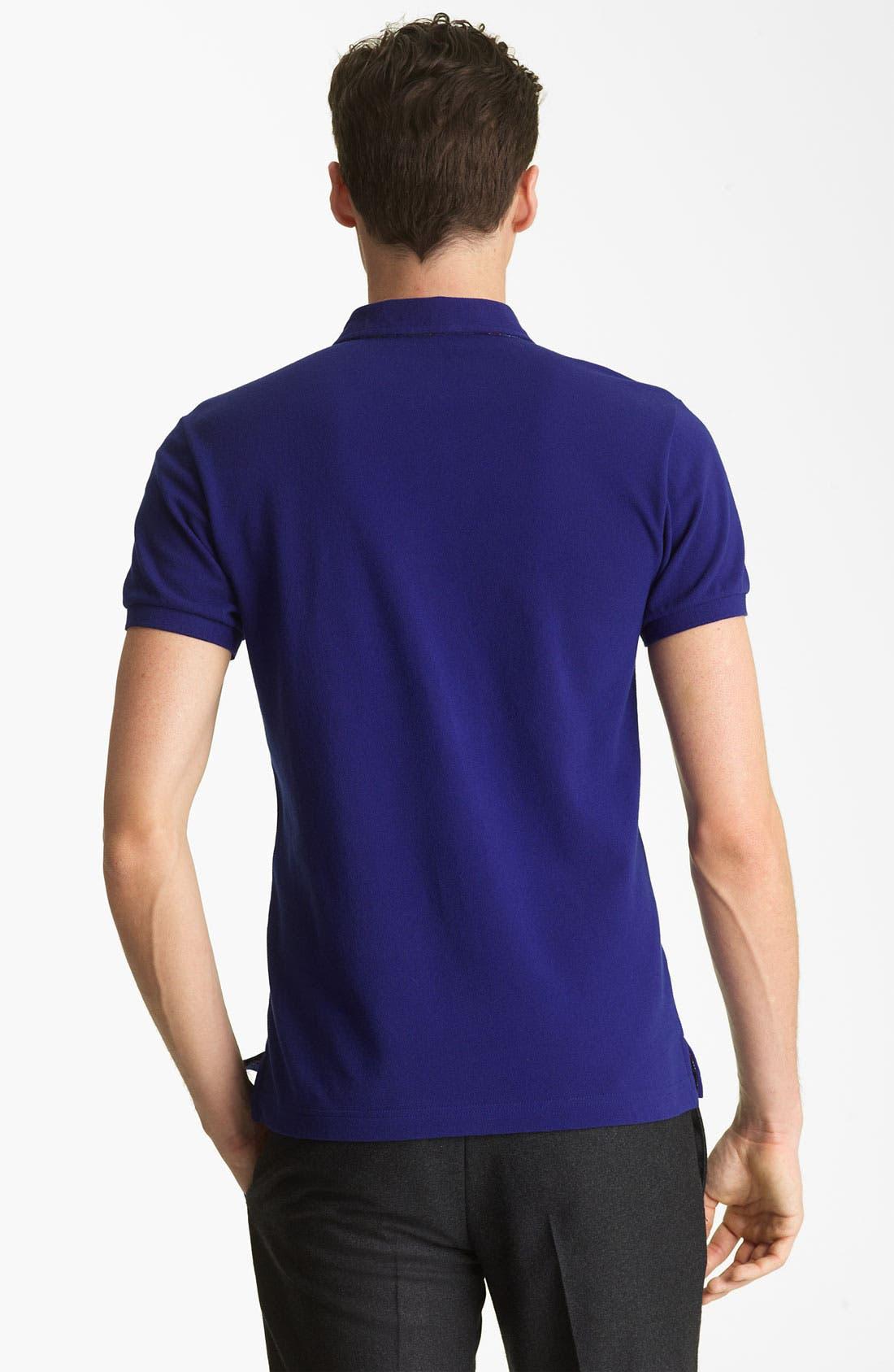 Alternate Image 2  - Etro Short Sleeve Polo