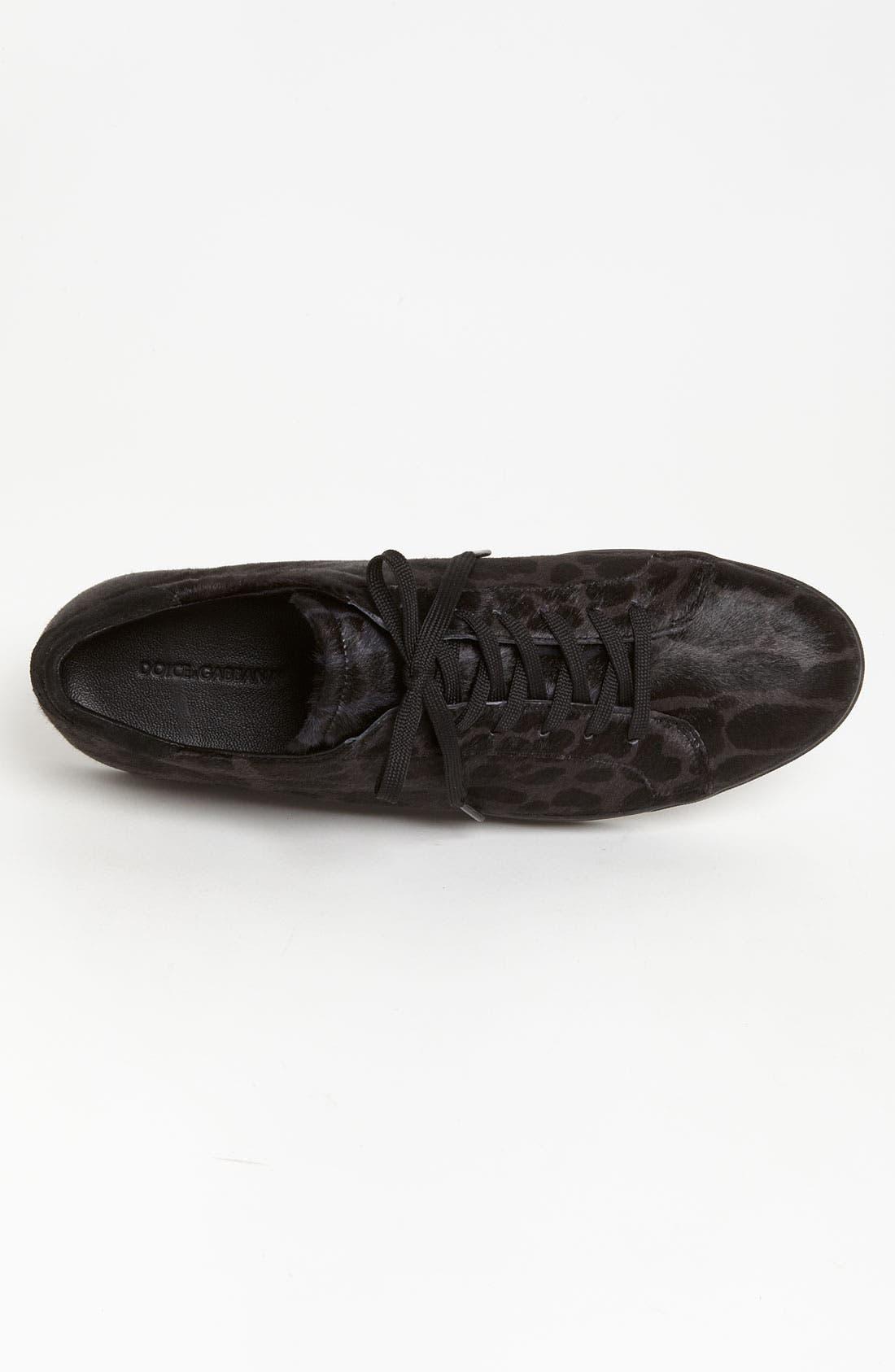 Alternate Image 3  - Dolce&Gabbana Leopard Print Sneaker