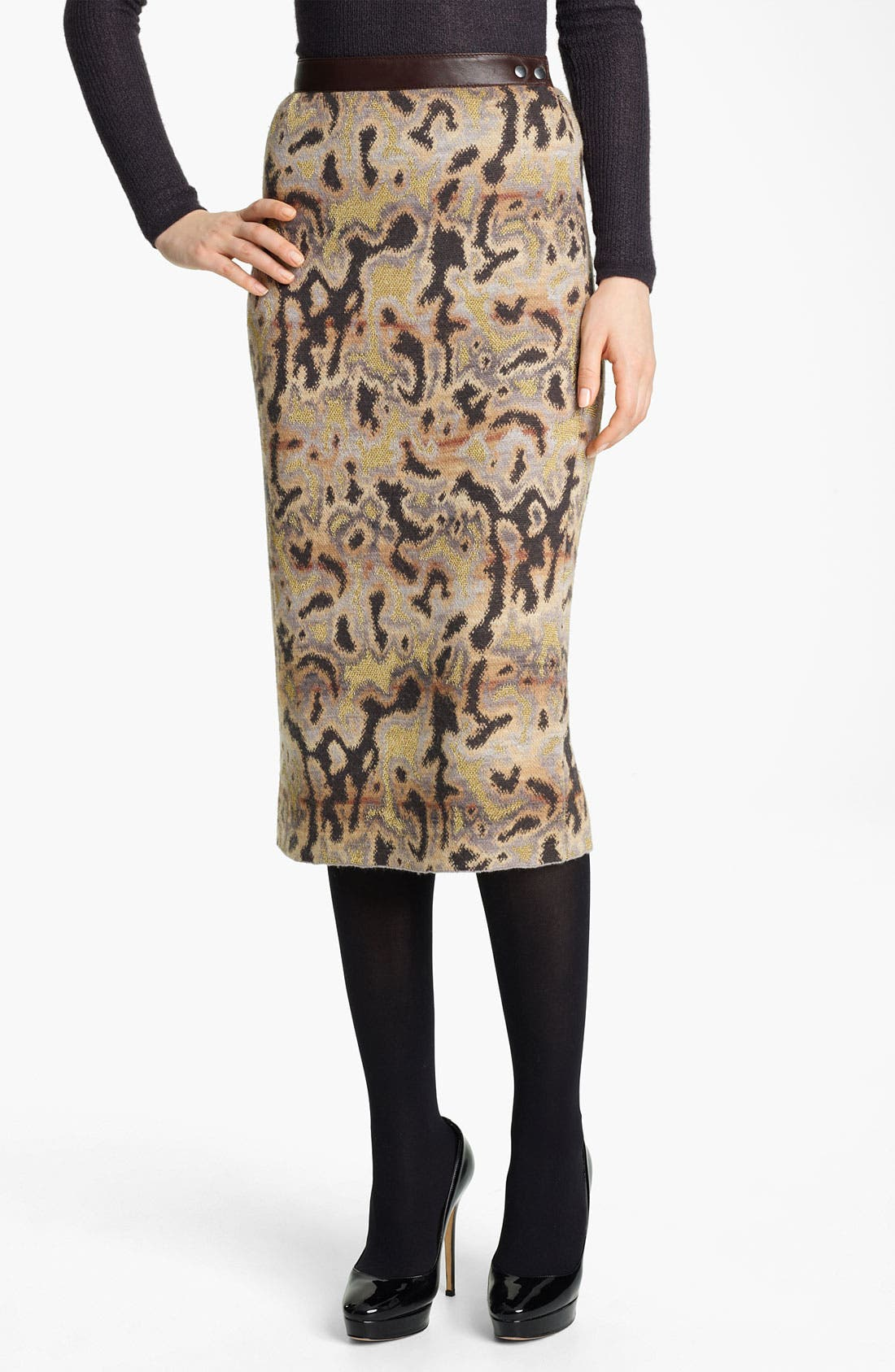 Main Image - Missoni Marble Stitch Pencil Skirt