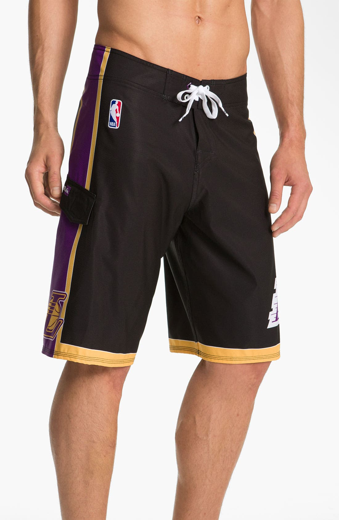 Alternate Image 2  - Quiksilver 'L.A. Lakers' Board Shorts