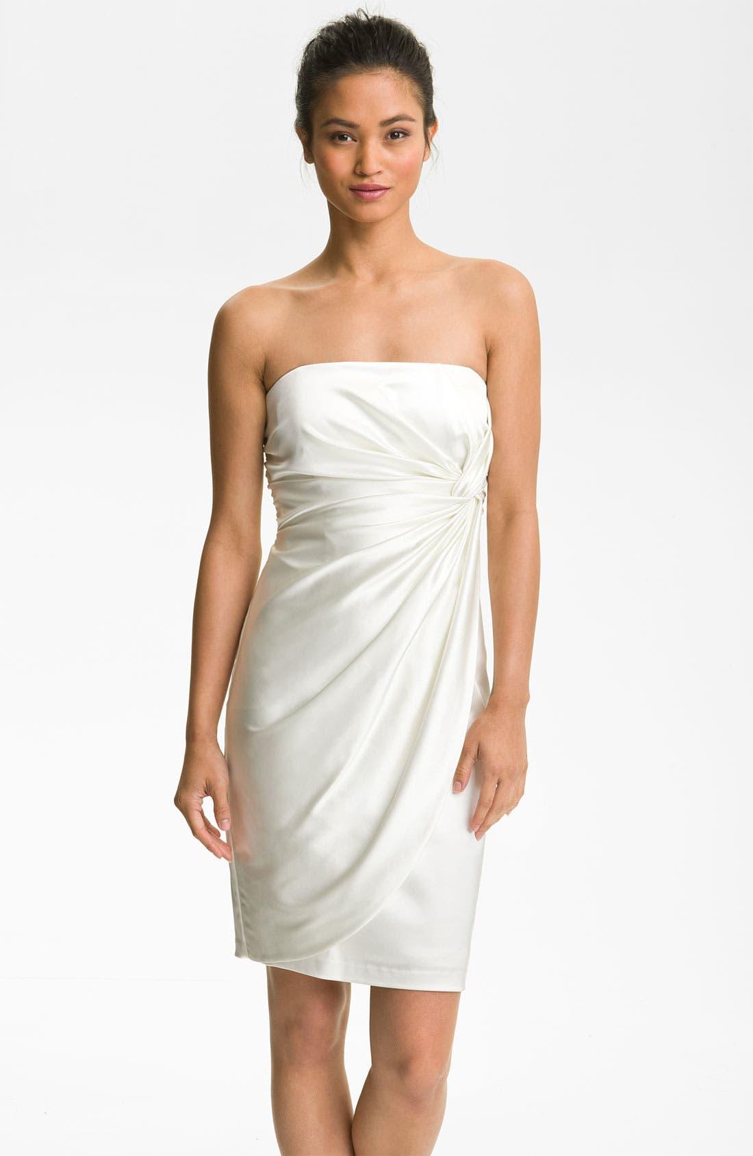Main Image - Maggy London Strapless Sheath Dress