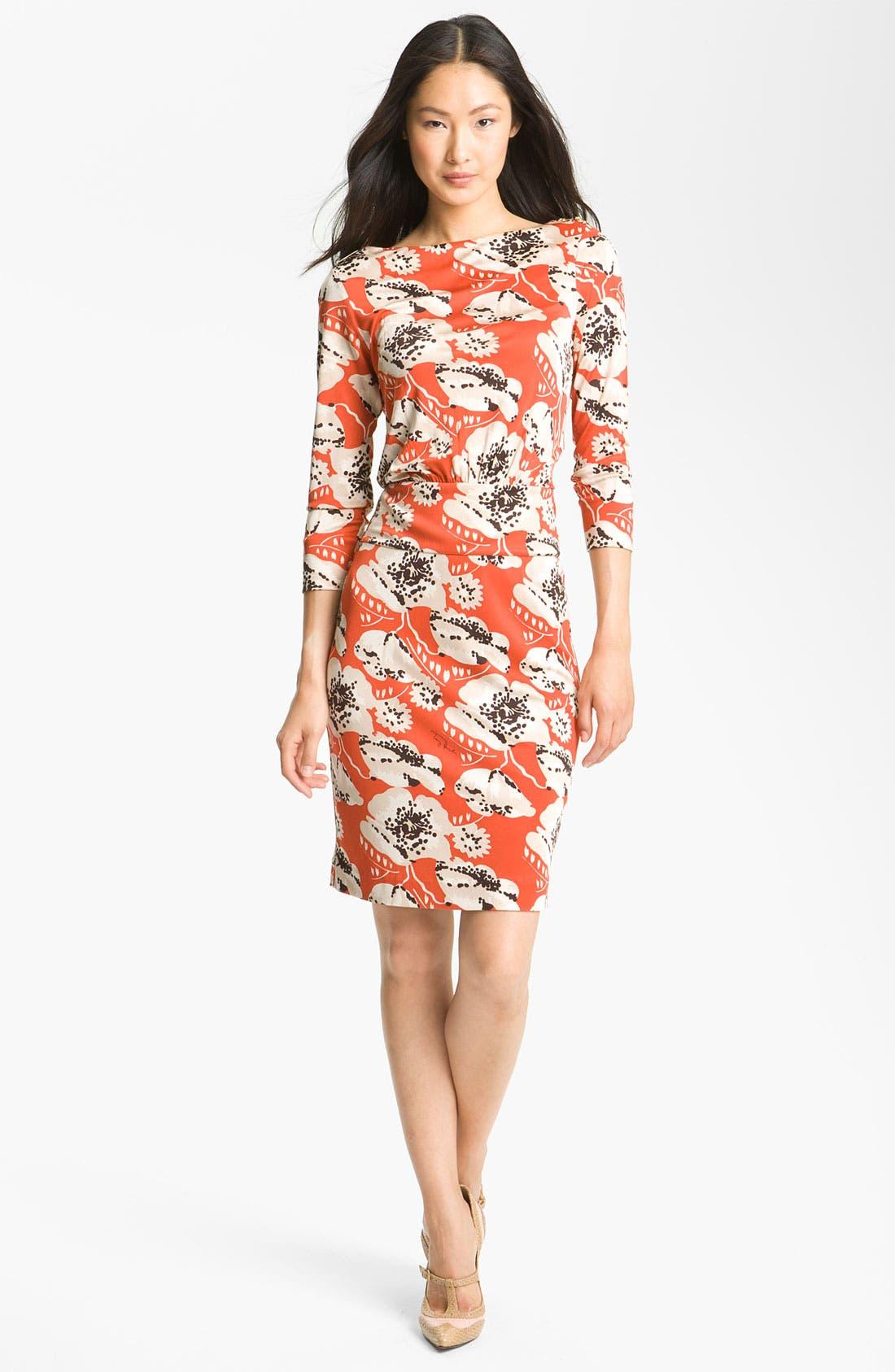 Alternate Image 1 Selected - Tory Burch 'Sheila' Silk Dress