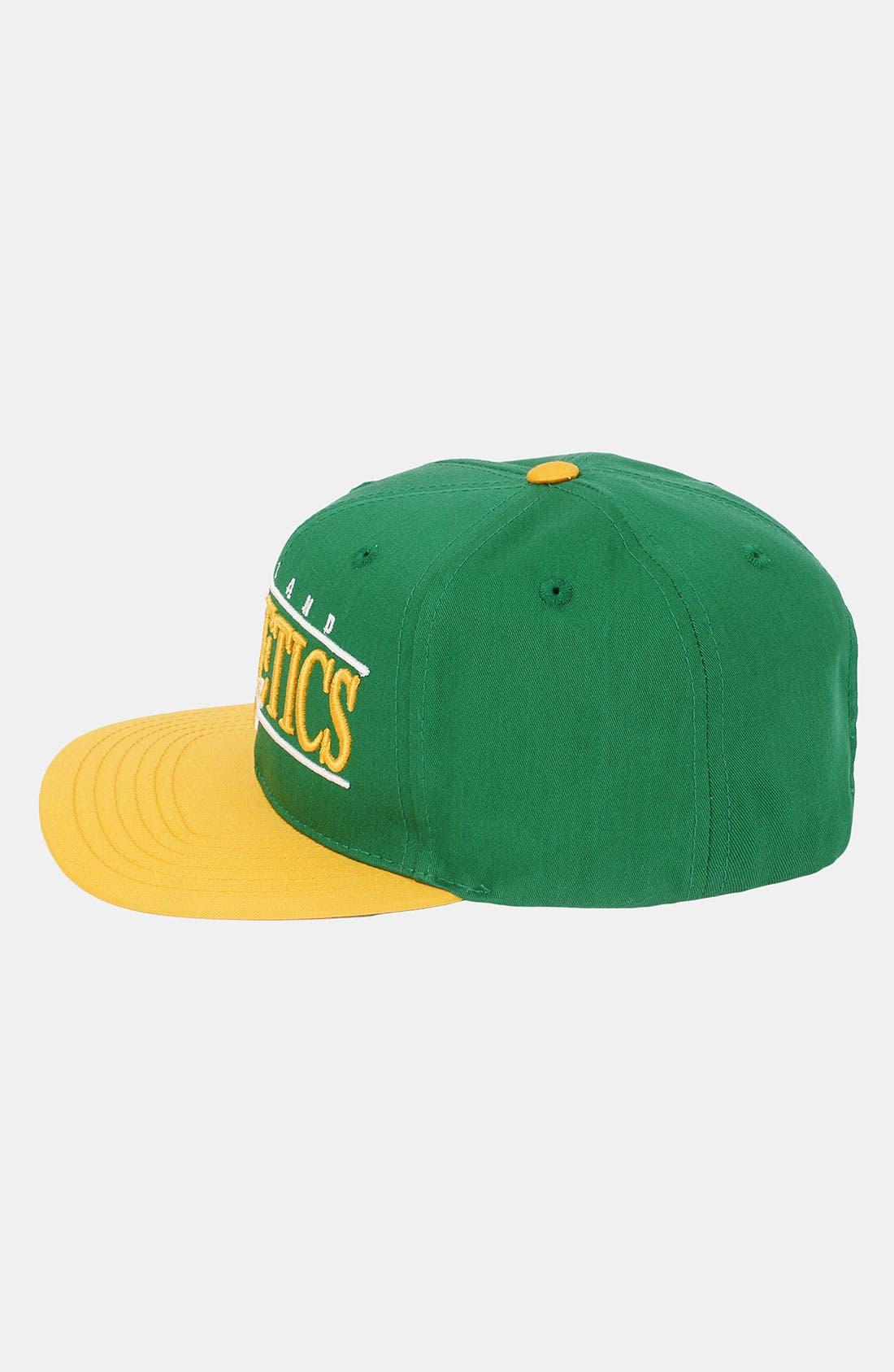 Alternate Image 3  - American Needle 'Oakland Athletics - Nineties' Twill Snapback Baseball Cap