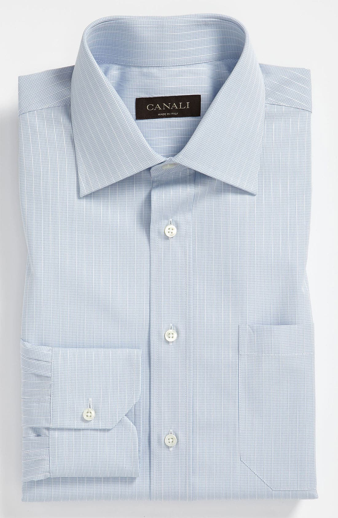 Alternate Image 1 Selected - Canali Regular Fit Dress Shirt