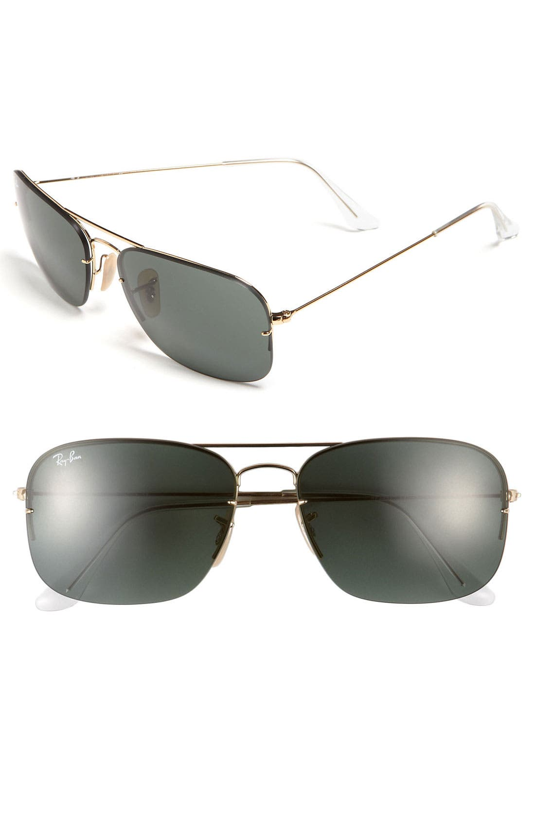 Alternate Image 1 Selected - Ray-Ban 'Interchangeable Lens Box Set' 59mm Navigator Sunglasses