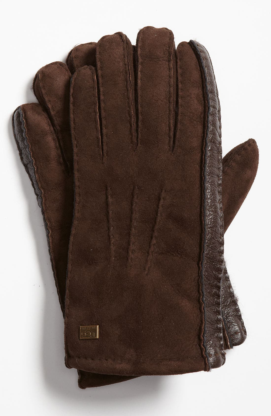 Alternate Image 1 Selected - UGG® Australia Genuine Shearling Gloves