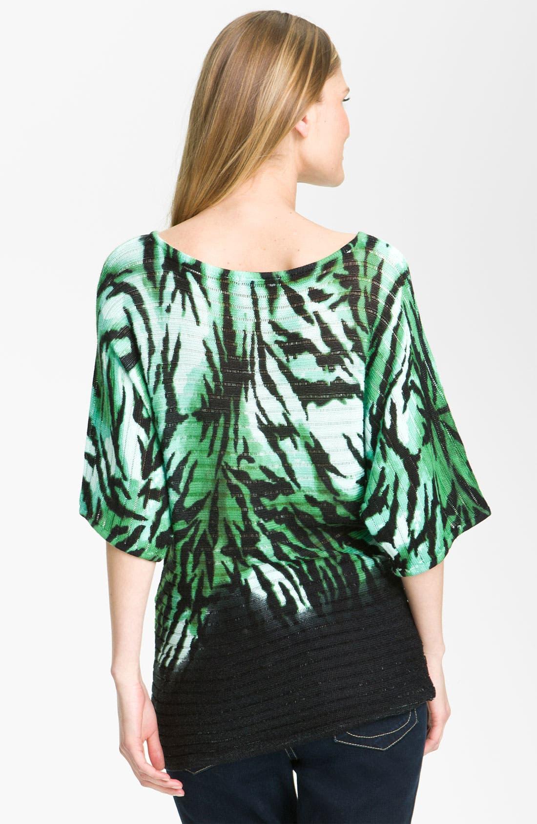 Alternate Image 2  - Alberto Makali 'Zebra' Print Sweater