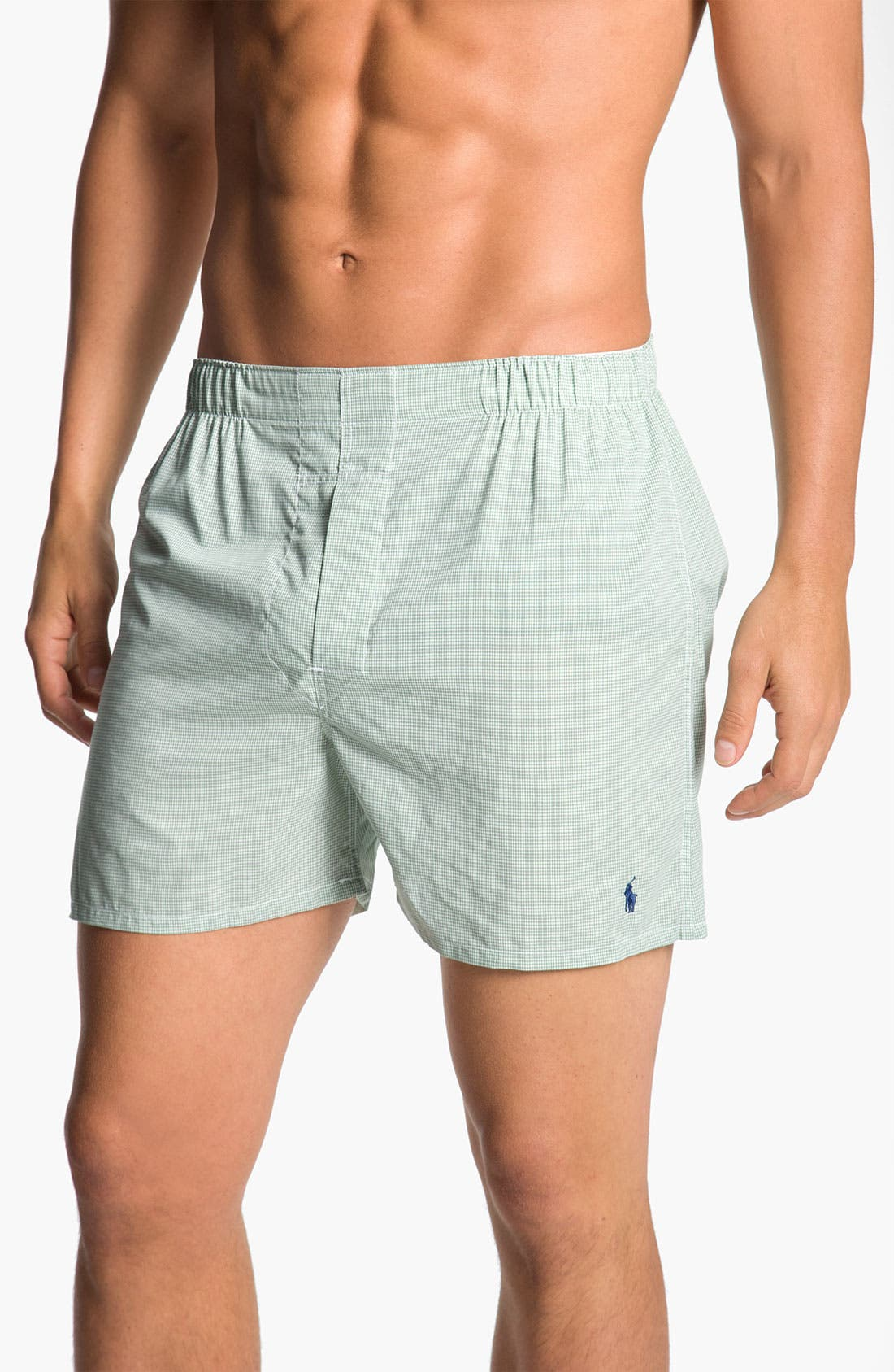 Alternate Image 4  - Polo Ralph Lauren Woven Boxers (Assorted 3-Pack)