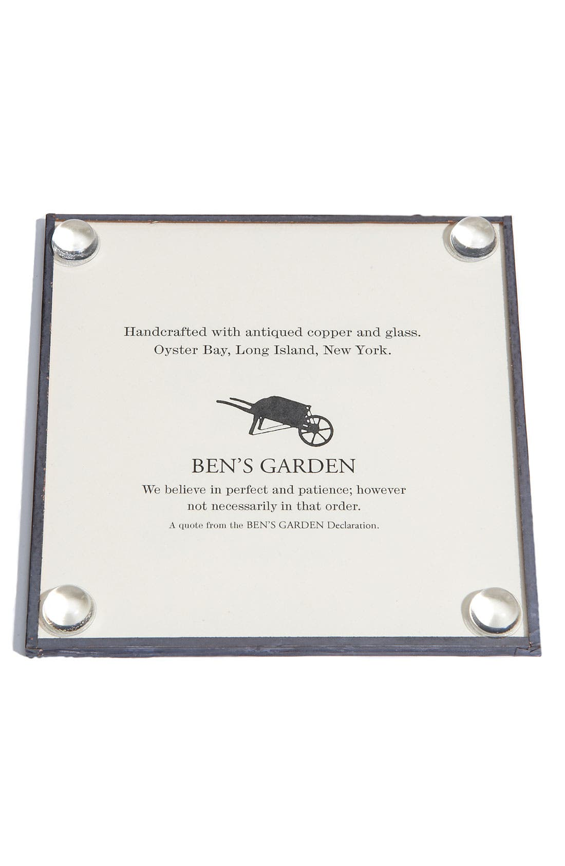 Alternate Image 2  - Ben's Garden 'If You Obey All the Rules' Coasters (Set of 4)