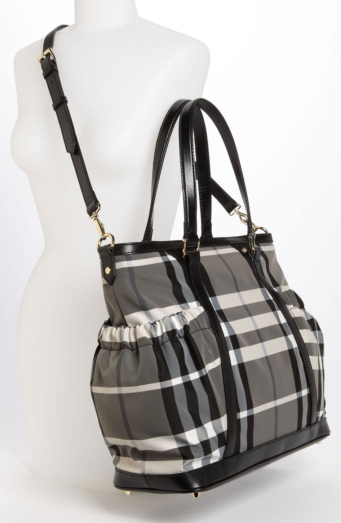 Alternate Image 2  - Burberry Check Print Diaper Bag