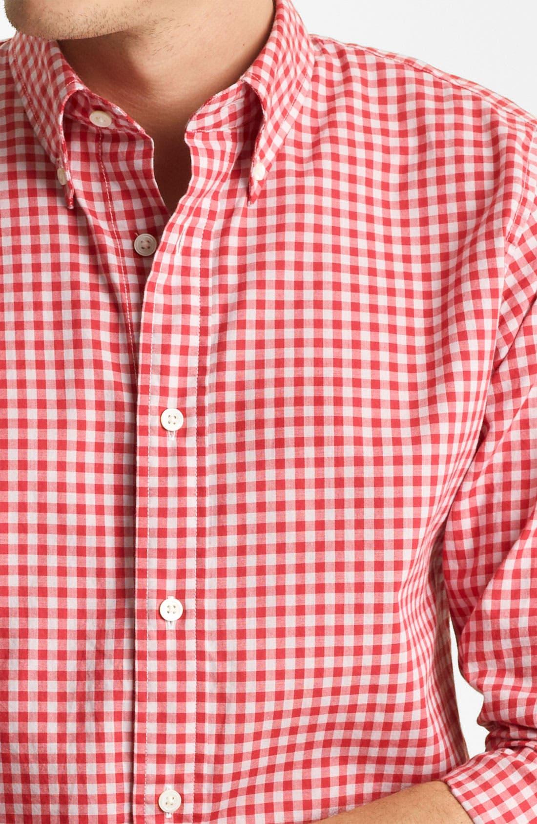 Alternate Image 3  - Jack Spade 'Kern' Gingham Sport Shirt