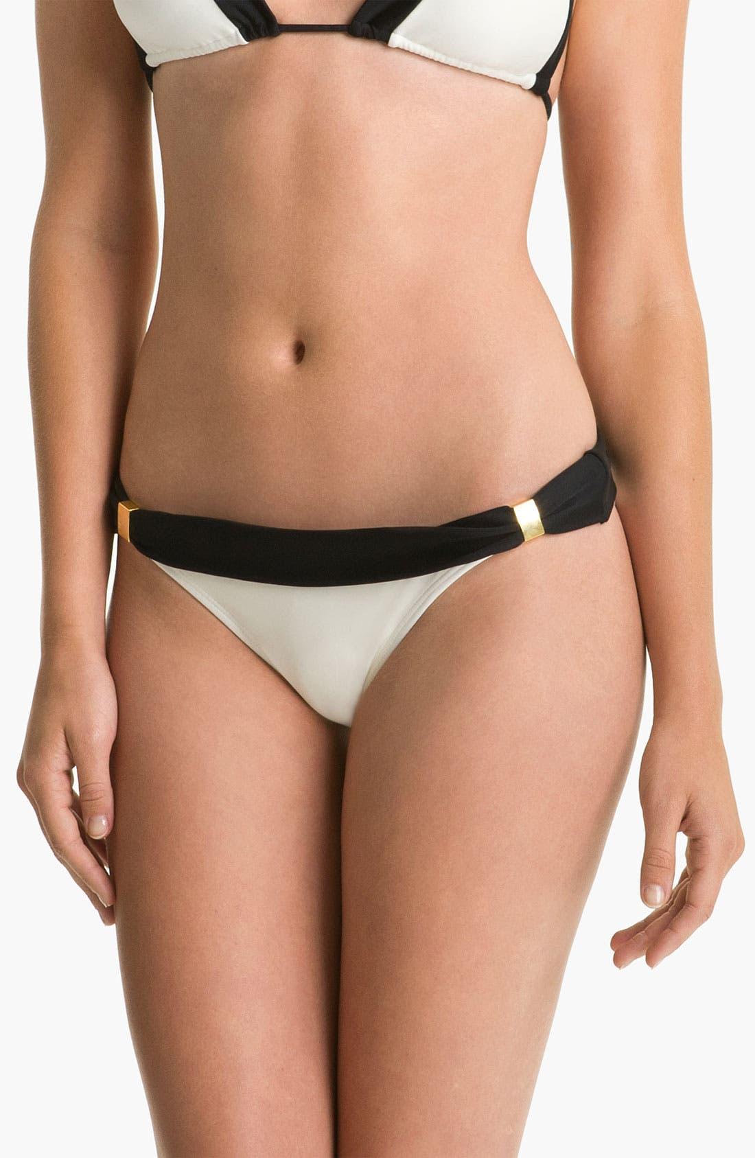 Main Image - ViX Swimwear 'Betsy Colorblock Bia' Bikini Bottoms