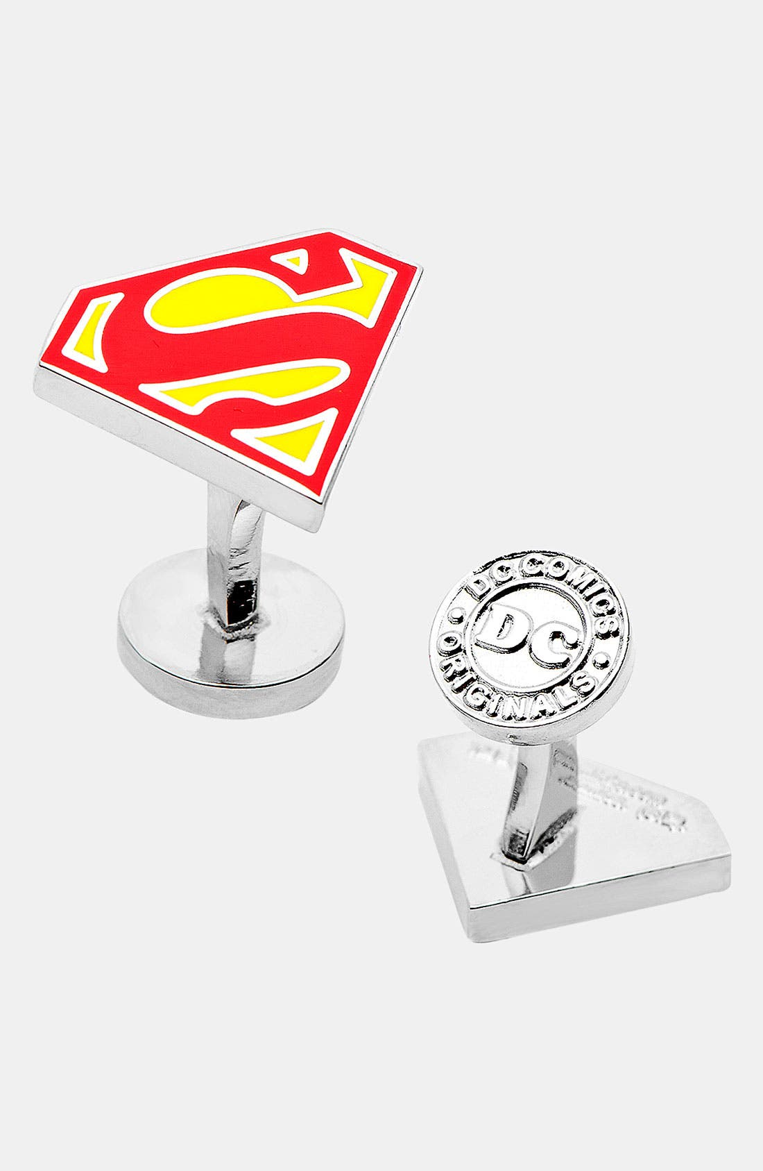 Main Image - Cufflinks, Inc. 'Superman Shield' Cuff Links