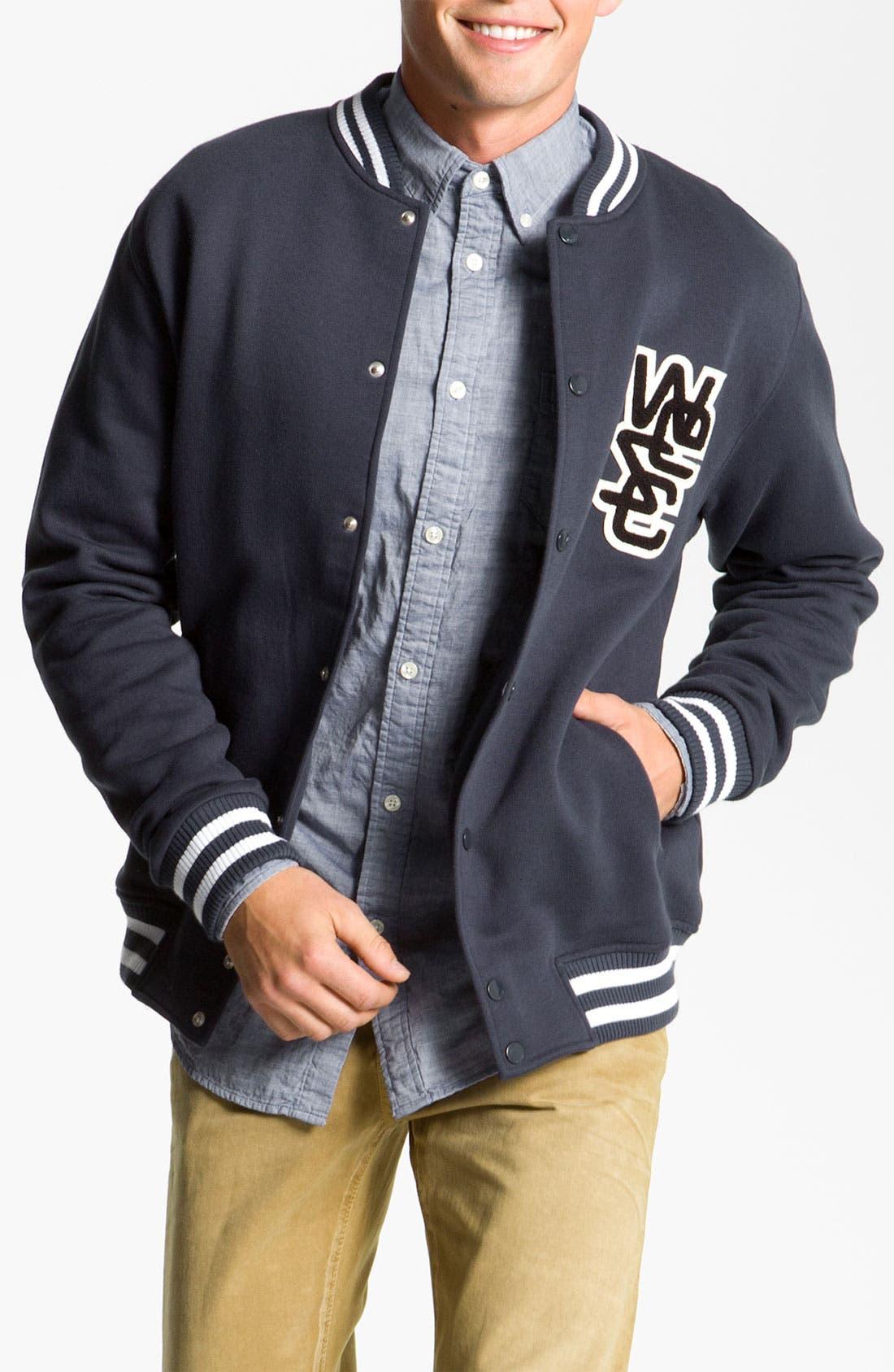 Alternate Image 1 Selected - WeSC 'Warren' Varsity Jacket