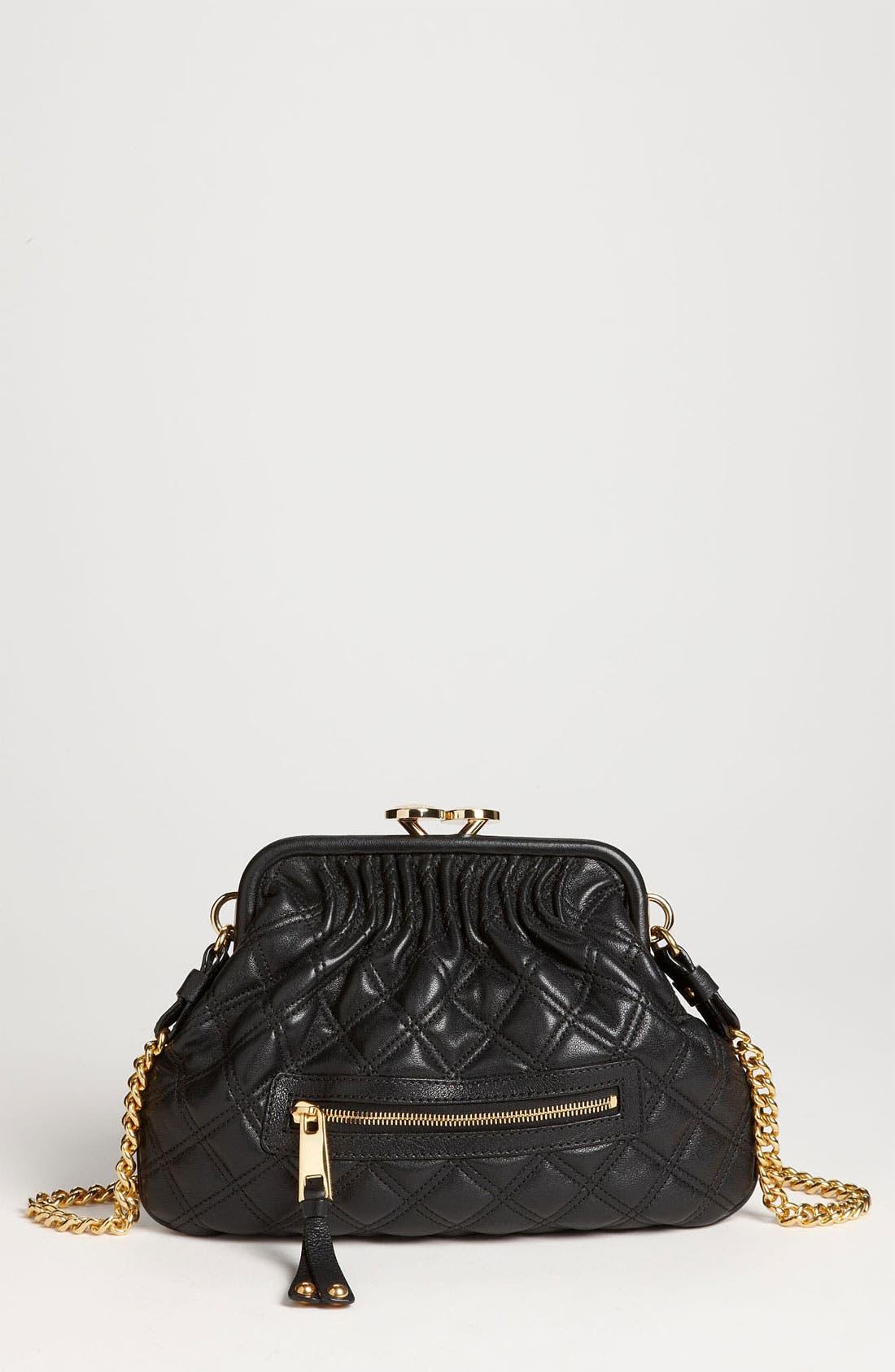 Alternate Image 1 Selected - MARC JACOBS 'Little Stam' Leather Crossbody Bag