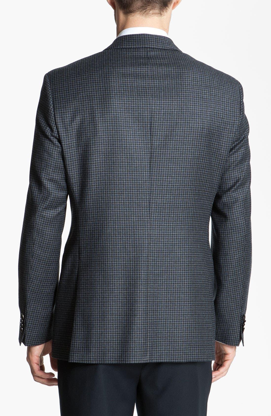 Alternate Image 2  - BOSS Black 'James' Check Blazer