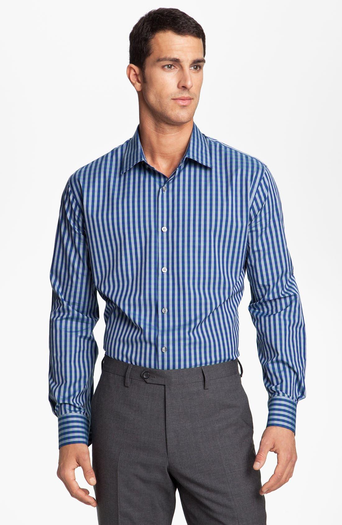 Main Image - Paul Smith London Check Dress Shirt