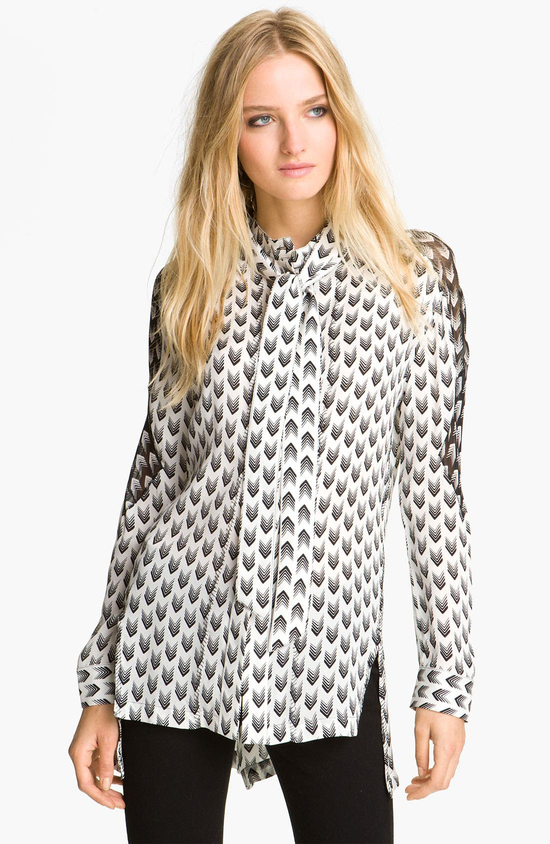 Main Image - rag & bone 'Gayatri Arrow' Print Shirt