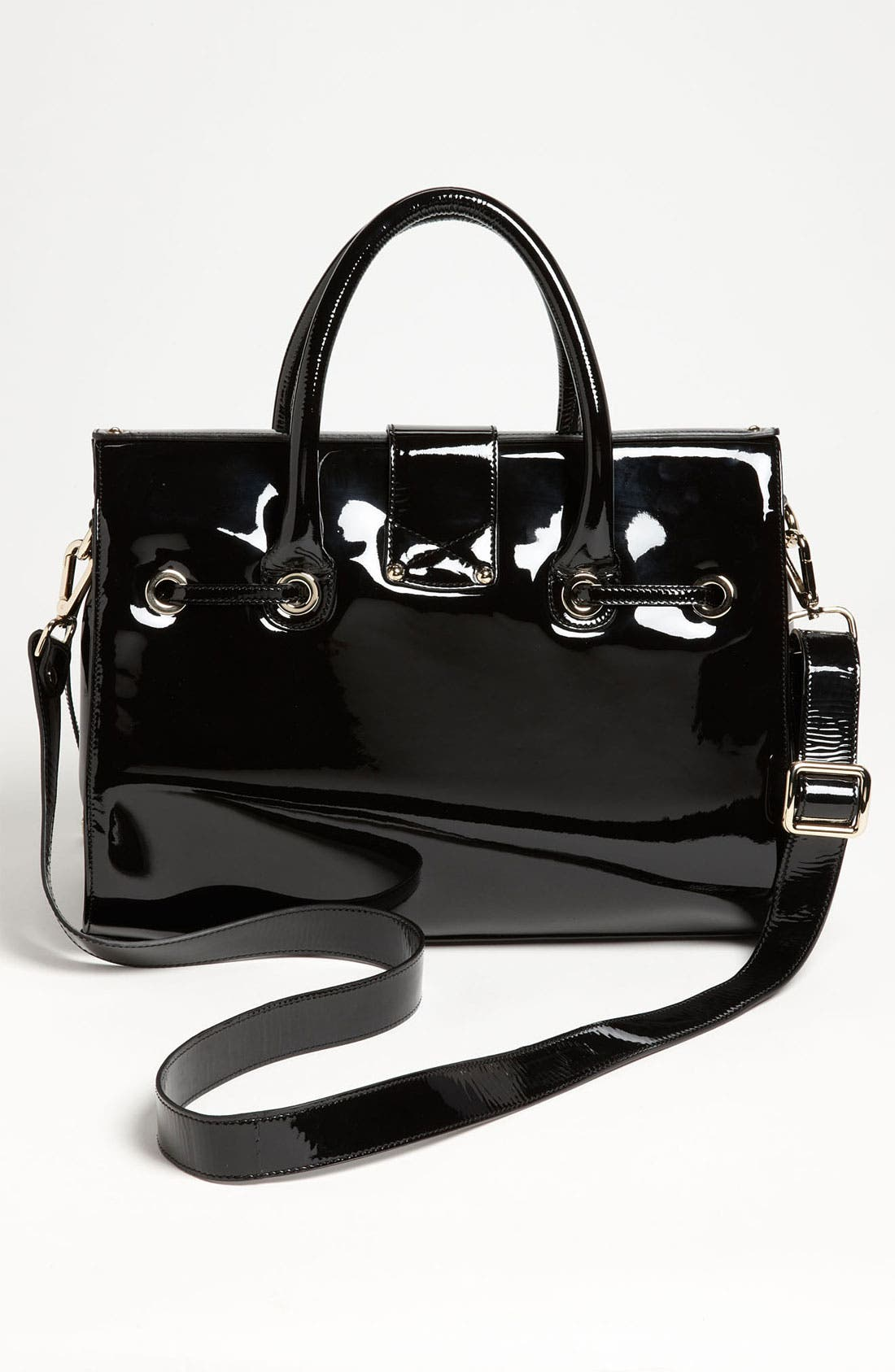 Alternate Image 4  - Jimmy Choo 'Rosalie' Patent Leather Satchel