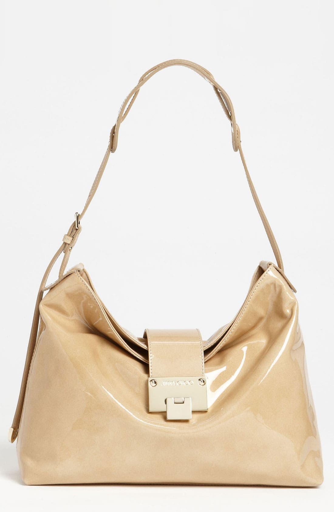 Main Image - Jimmy Choo 'Rachel - Small' Patent Leather Shoulder Bag
