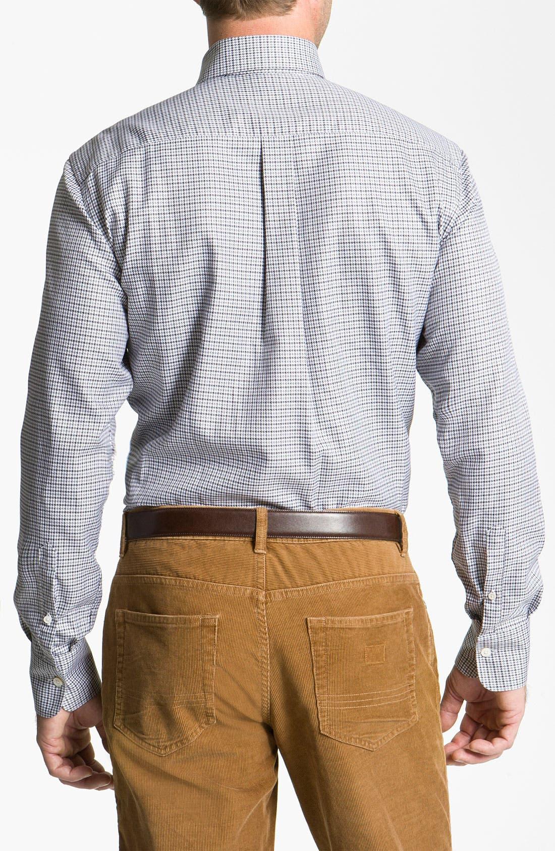Alternate Image 2  - Canali Regular Fit Woven Shirt