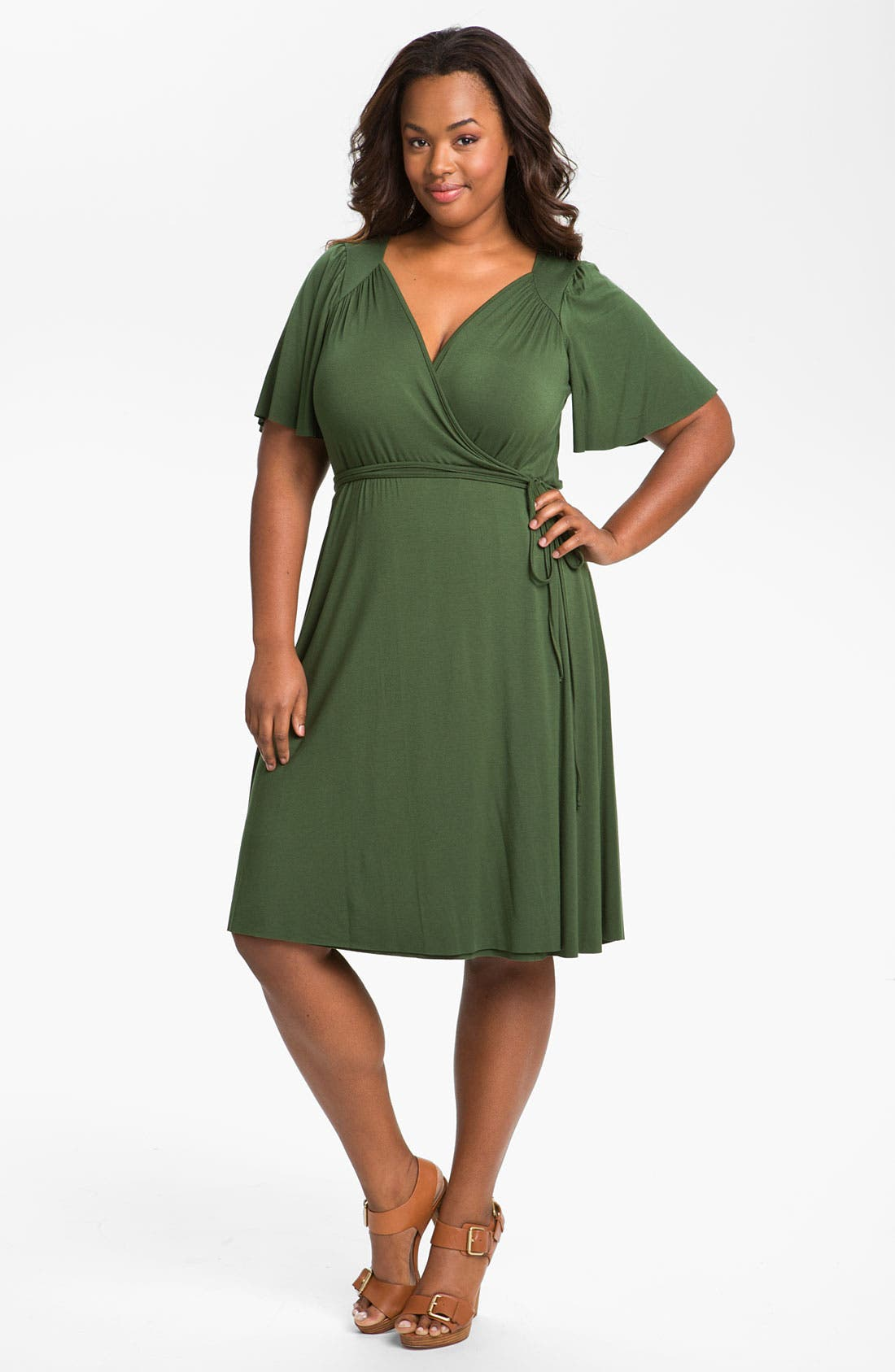 Alternate Image 1 Selected - Rachel Pally 'Finn' Wrap Dress (Plus)