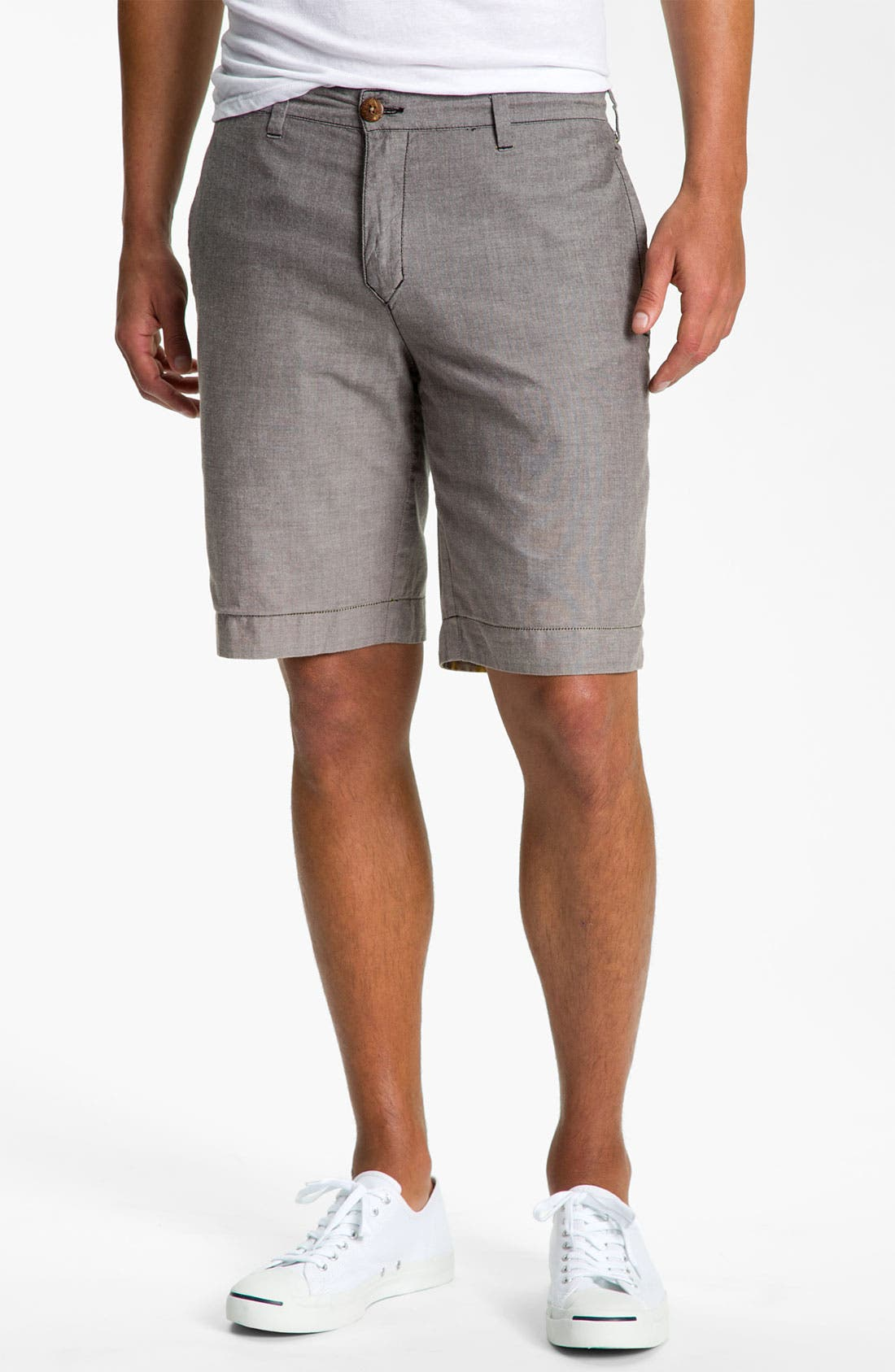 Alternate Image 4  - life/after/denim 'The Tourist' Reversible Shorts