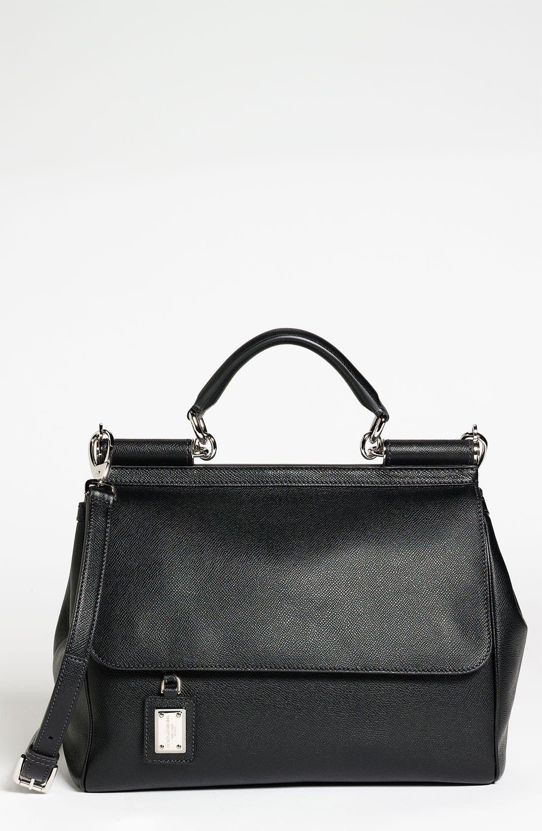 Main Image - Dolce&Gabbana 'Miss Mamma' Leather Satchel