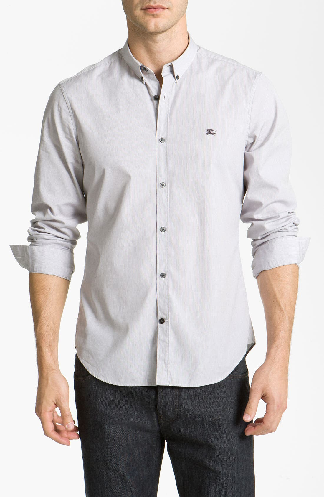 Alternate Image 1 Selected - Burberry Brit Woven Sport Shirt