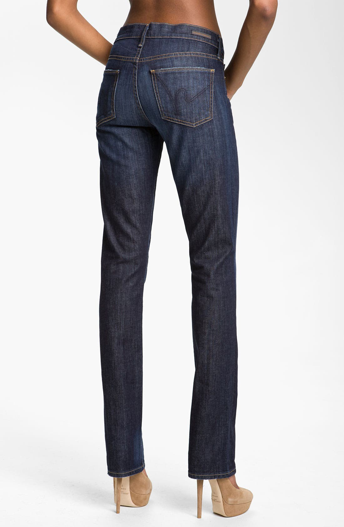 Alternate Image 2  - Citizens of Humanity 'Elson' Straight Leg Jeans (Pacific Blue)