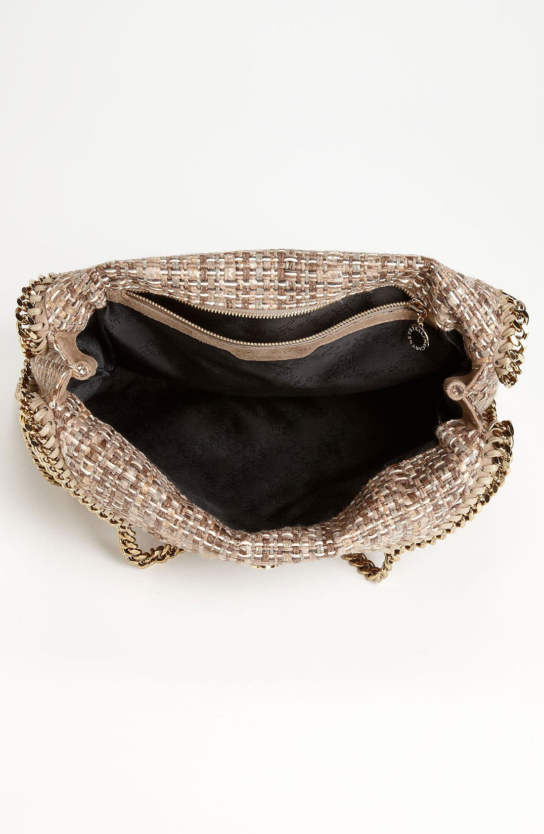 Alternate Image 3  - Stella McCartney 'Falabella' Metallic Bouclé Foldover Tote
