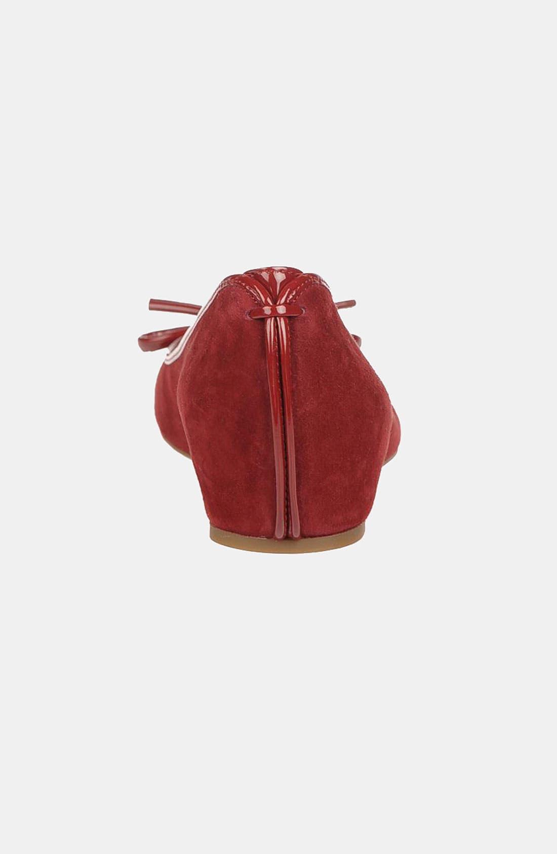 Alternate Image 2  - Franco Sarto 'Model' Peep Toe Flat